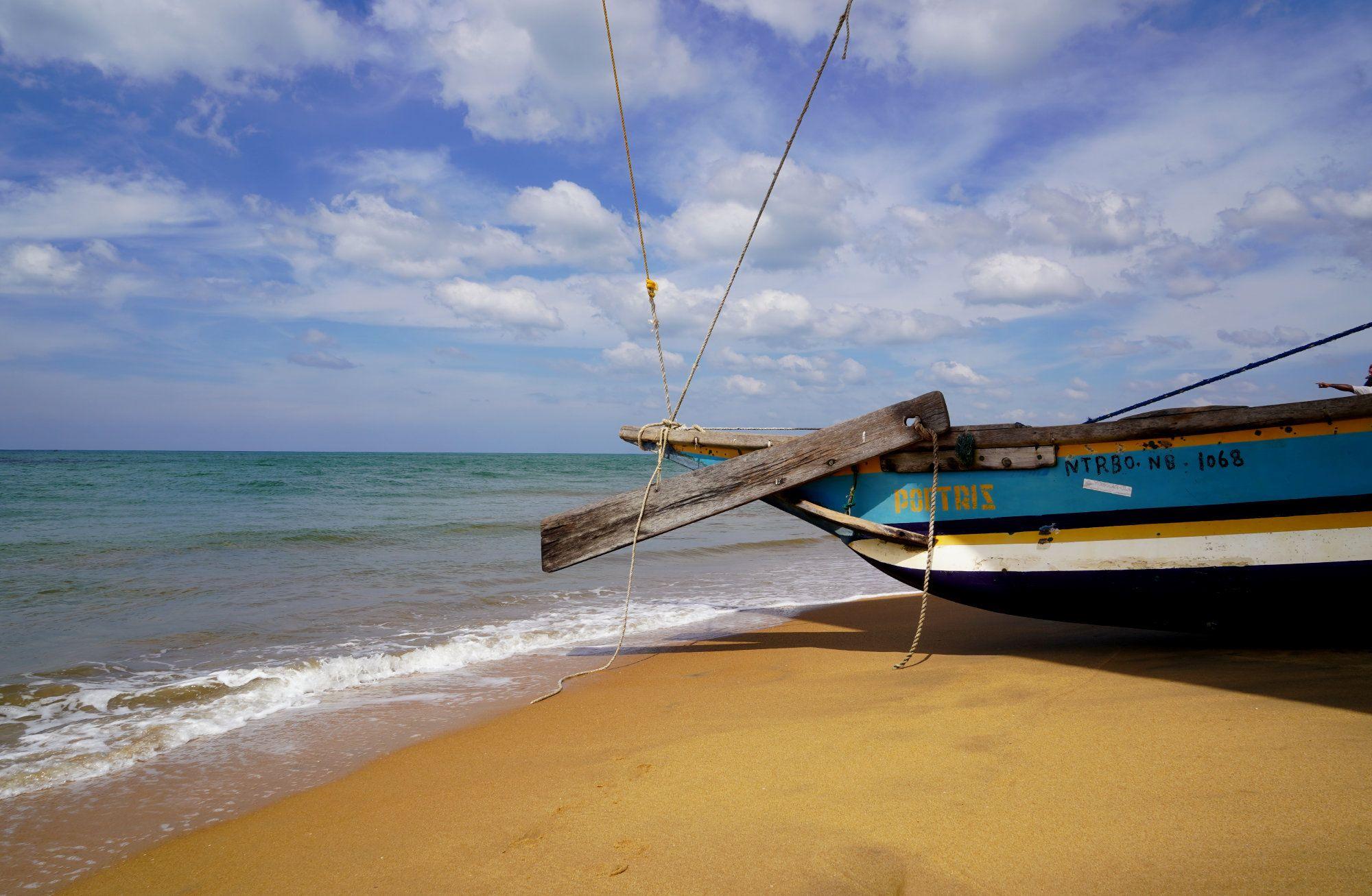 Negombo Segelboot Strand