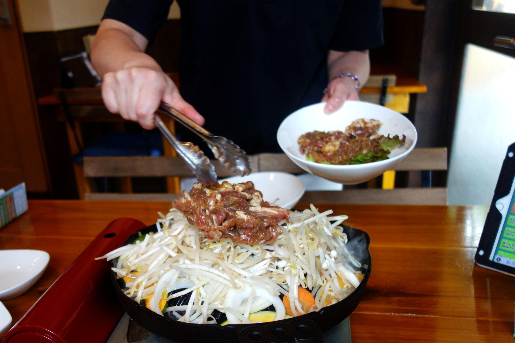Japan Essen Sukiyaki
