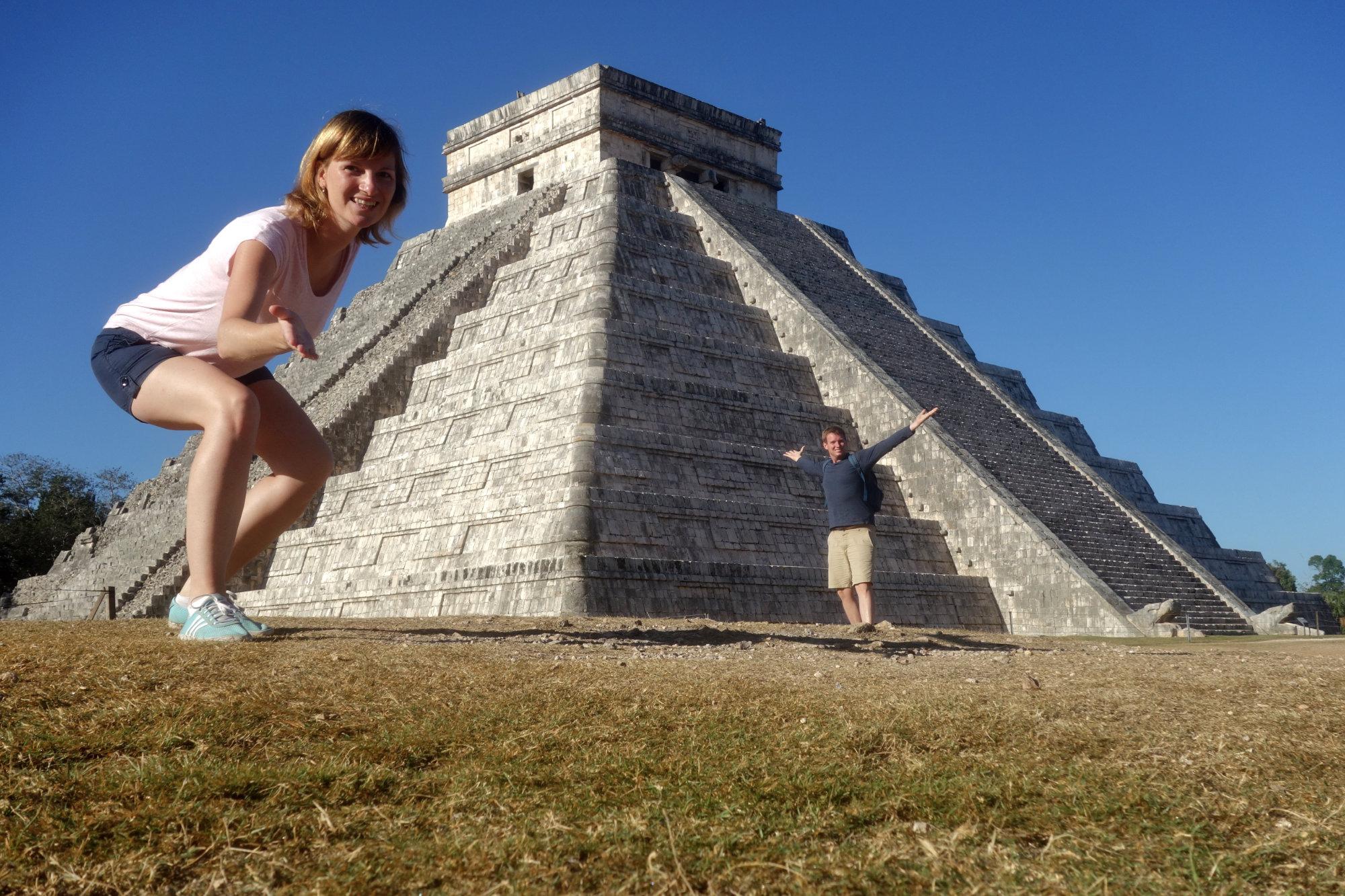 Mexiko Chicken Itza Pyramide