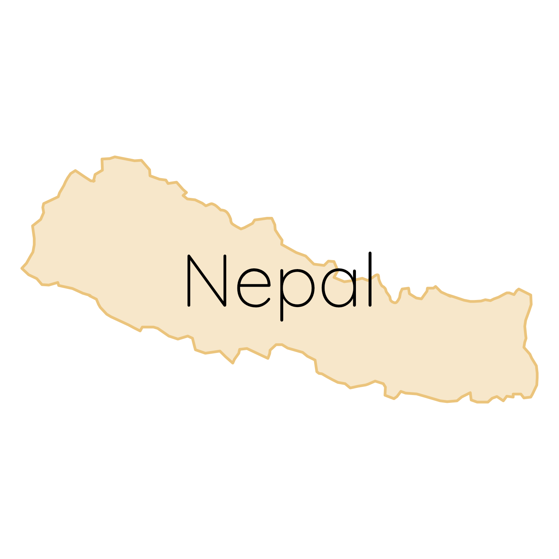 Nepal Karte