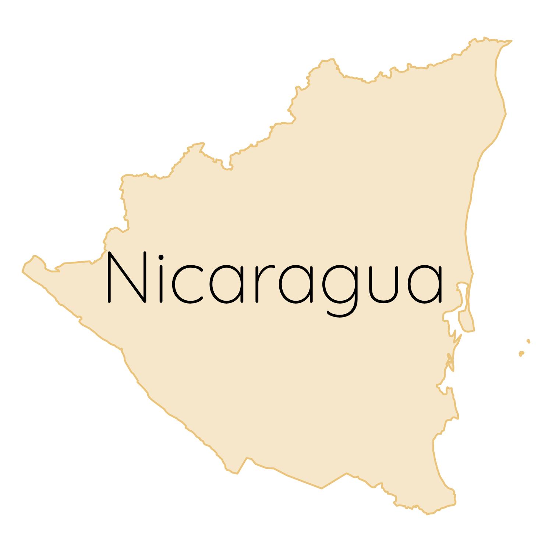 Nicaragua Karte