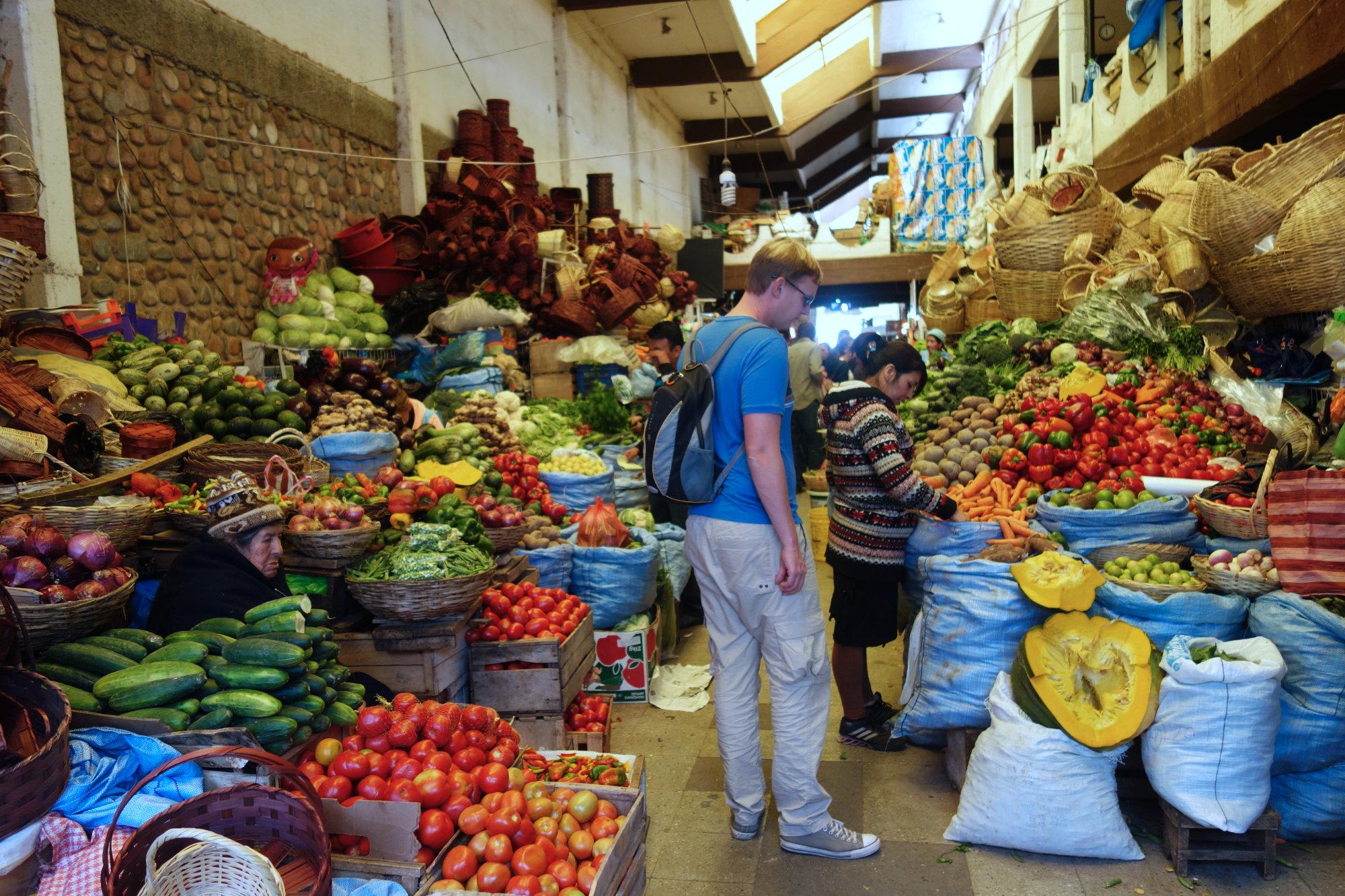 Bolivien Markt Matthias