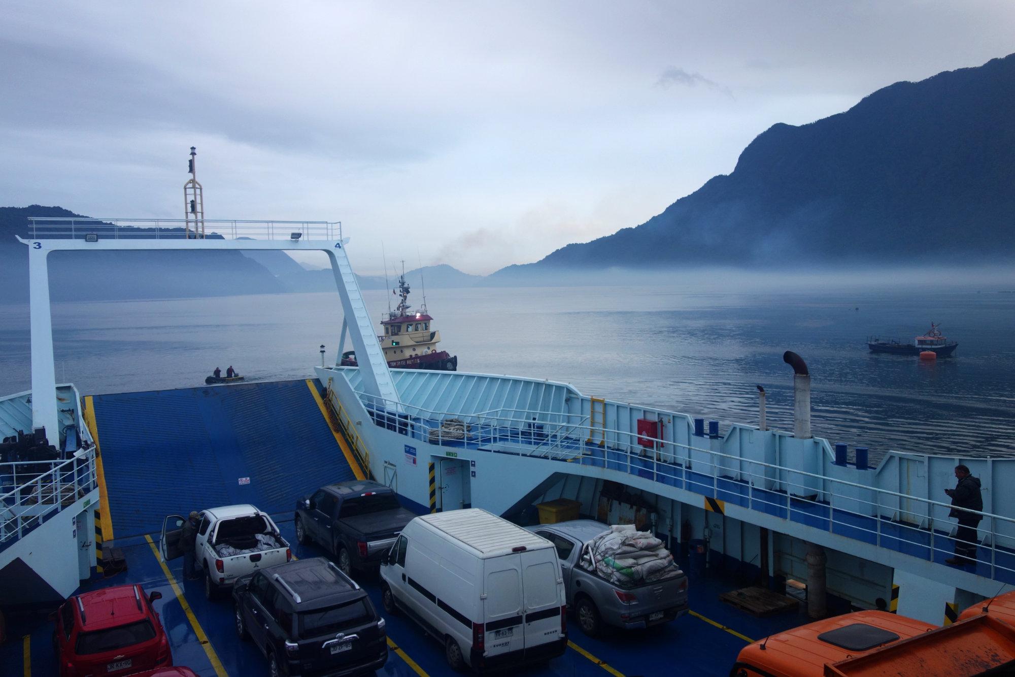 Chile Reisetipps Transport Fähre