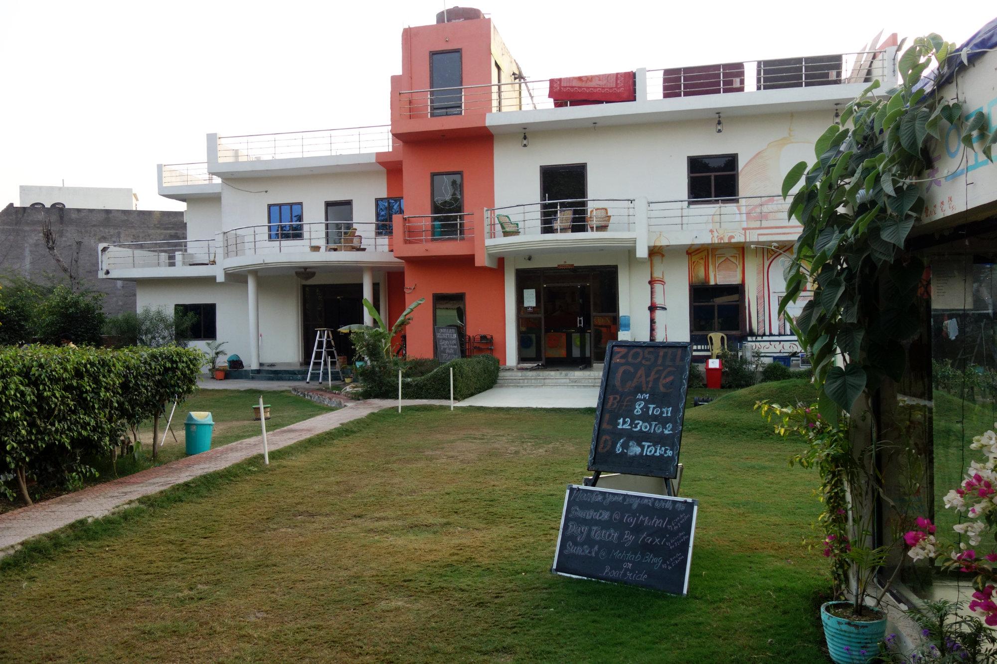 Indien Agra Zostel Garten