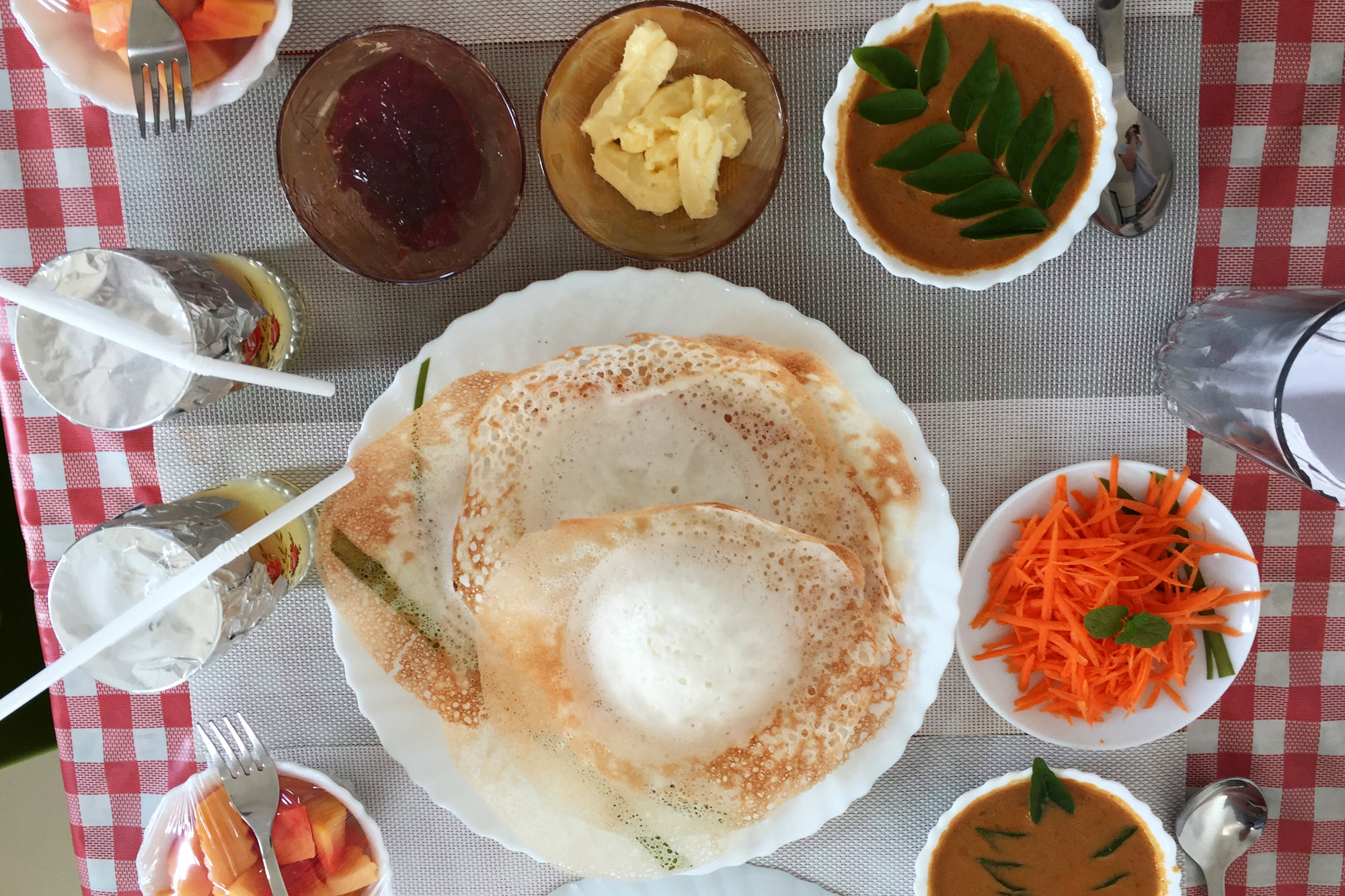 Indien Essen Frühstück