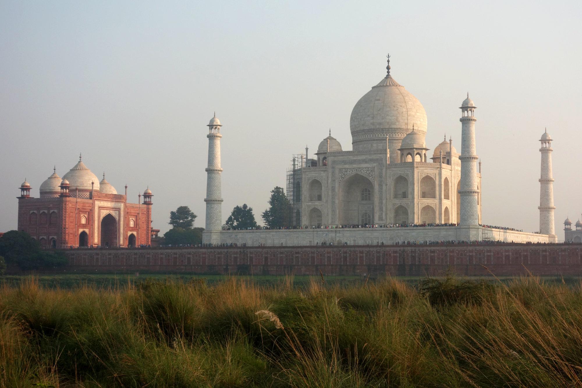 Indien Taj Mahal Titelbild
