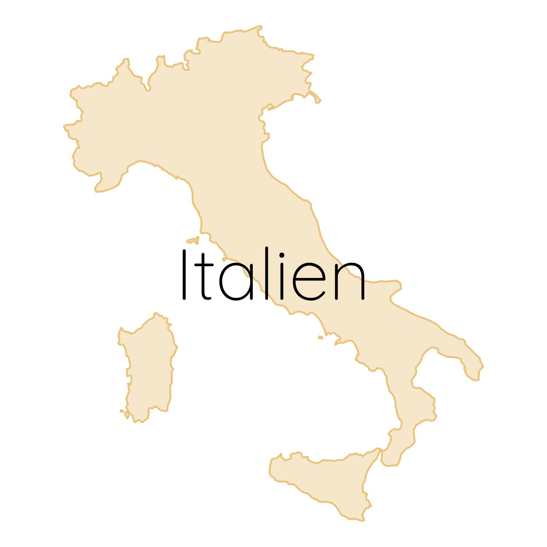 Italien Karte