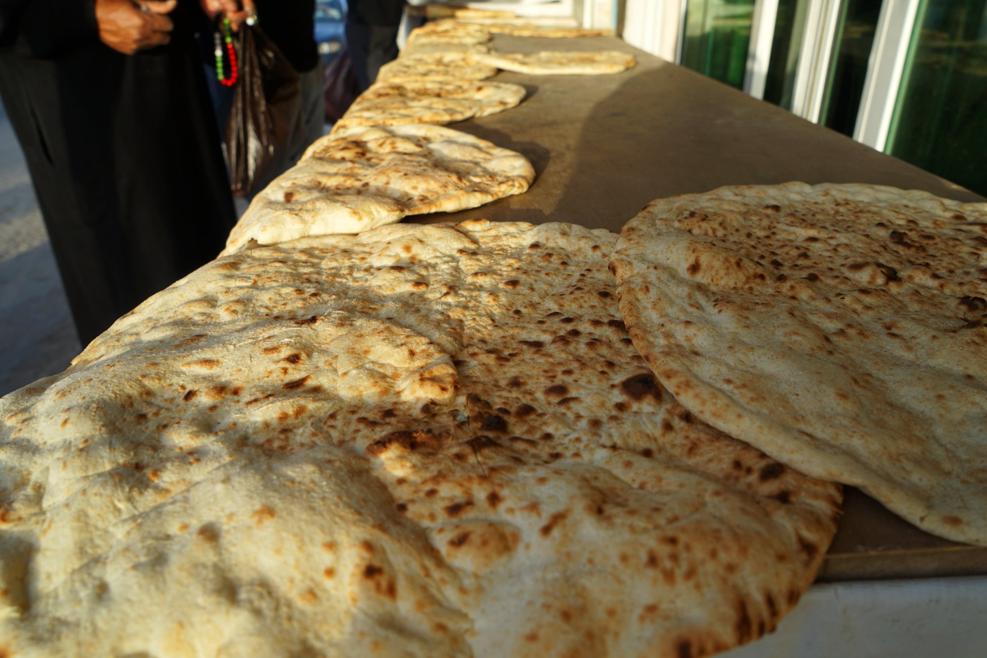 Jordanien Essen Brot