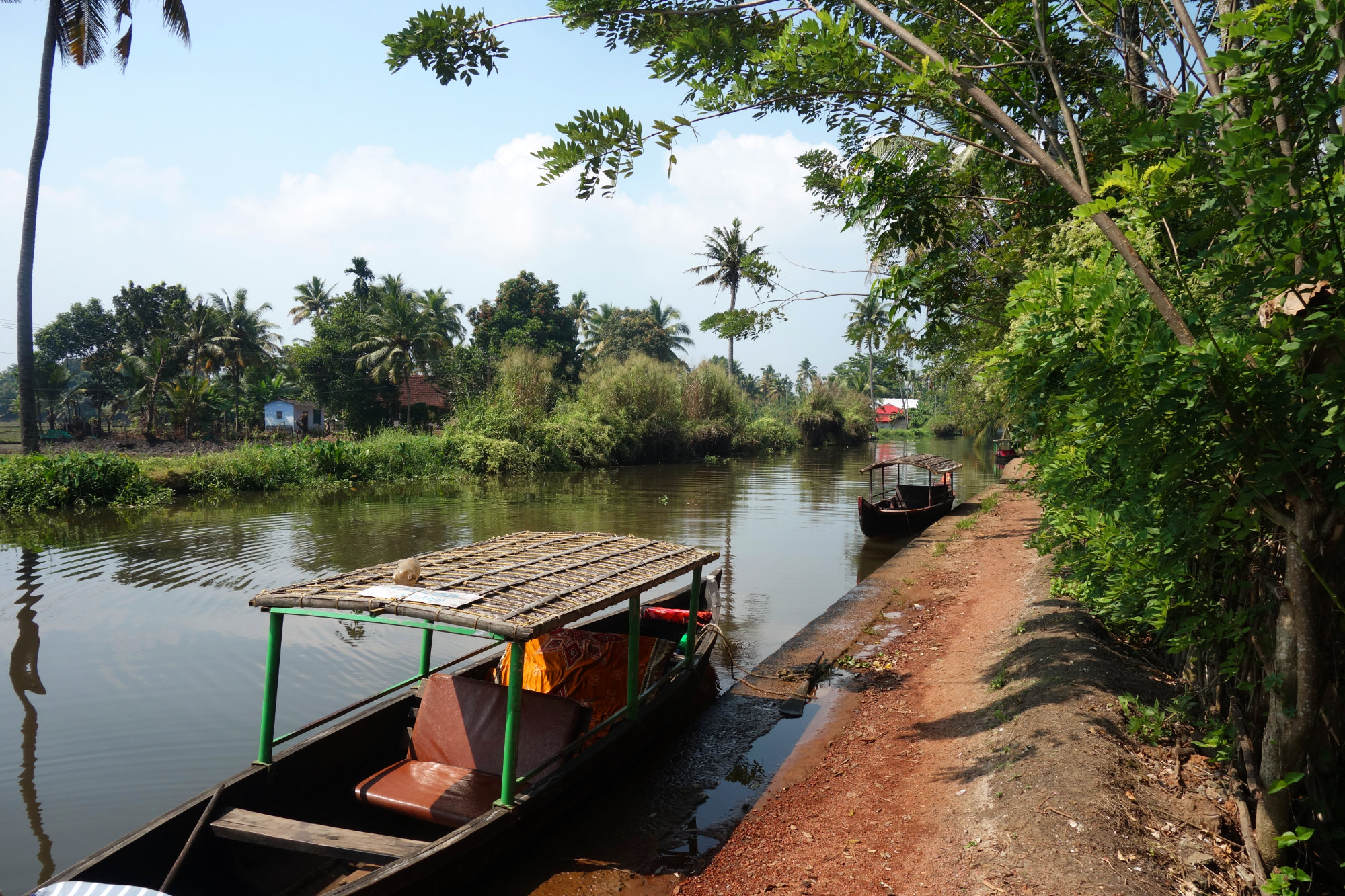 Kerala Backwaters Fluss