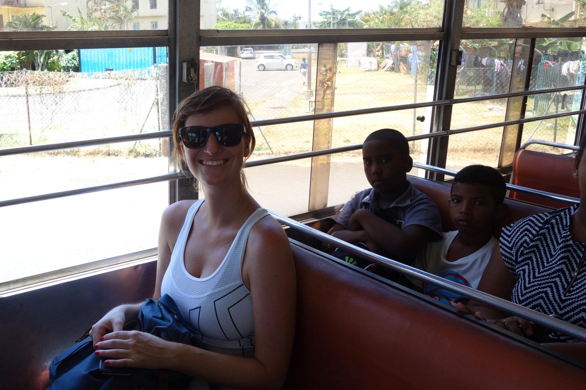 Mauritius Reisetipps Bus