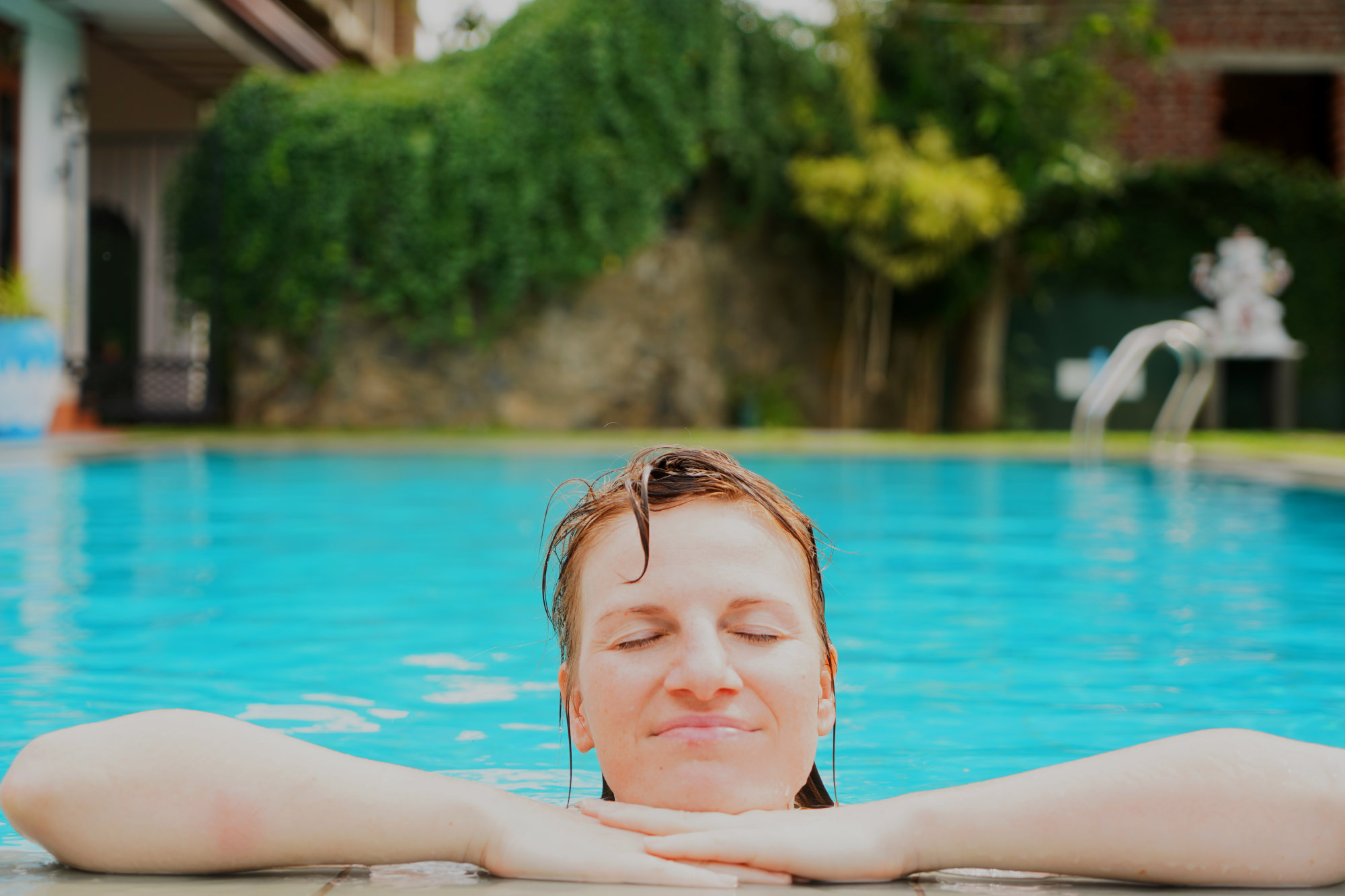 Negombo Lioni Villa Pool Franzi
