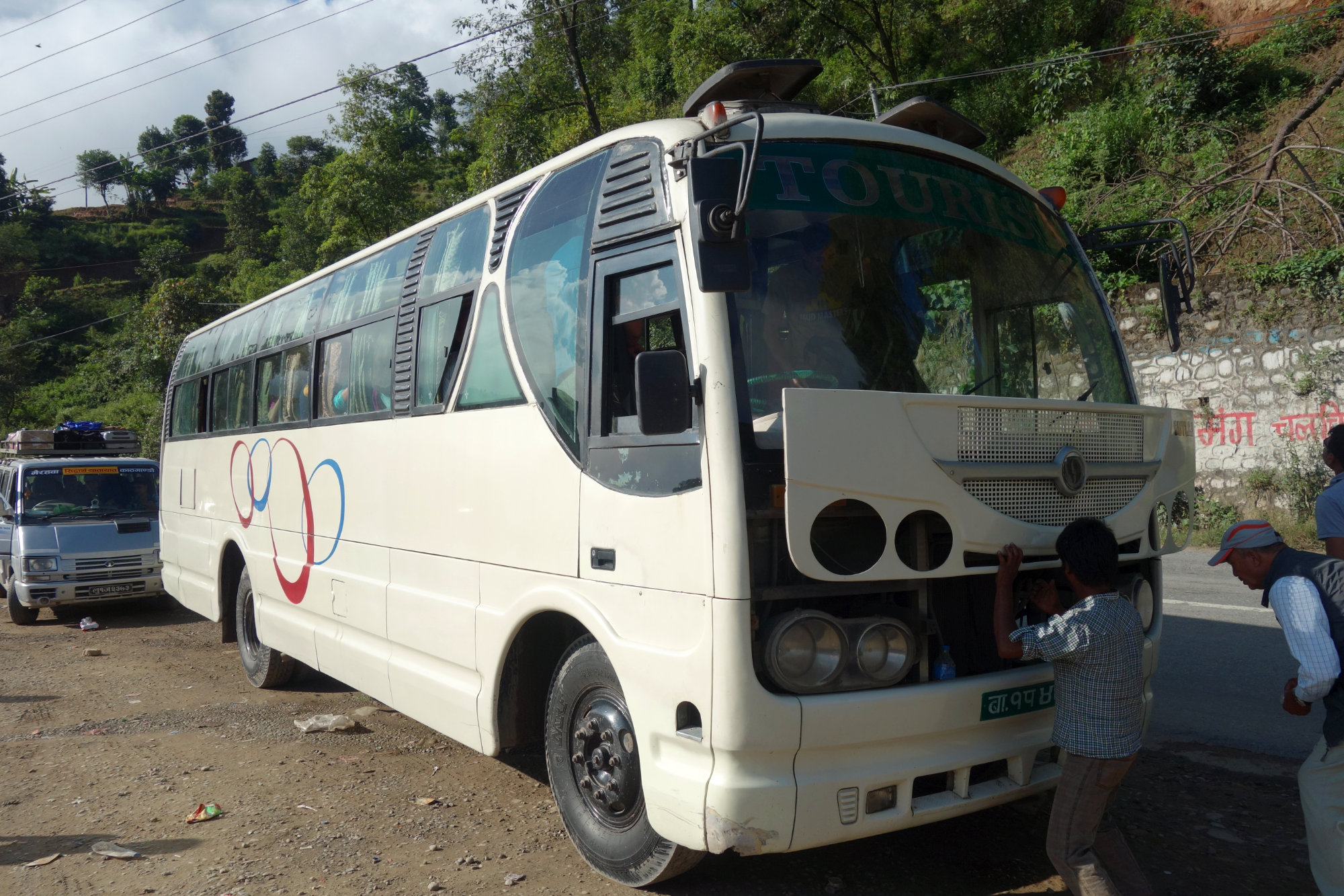 Nepal Transport Touristenbus