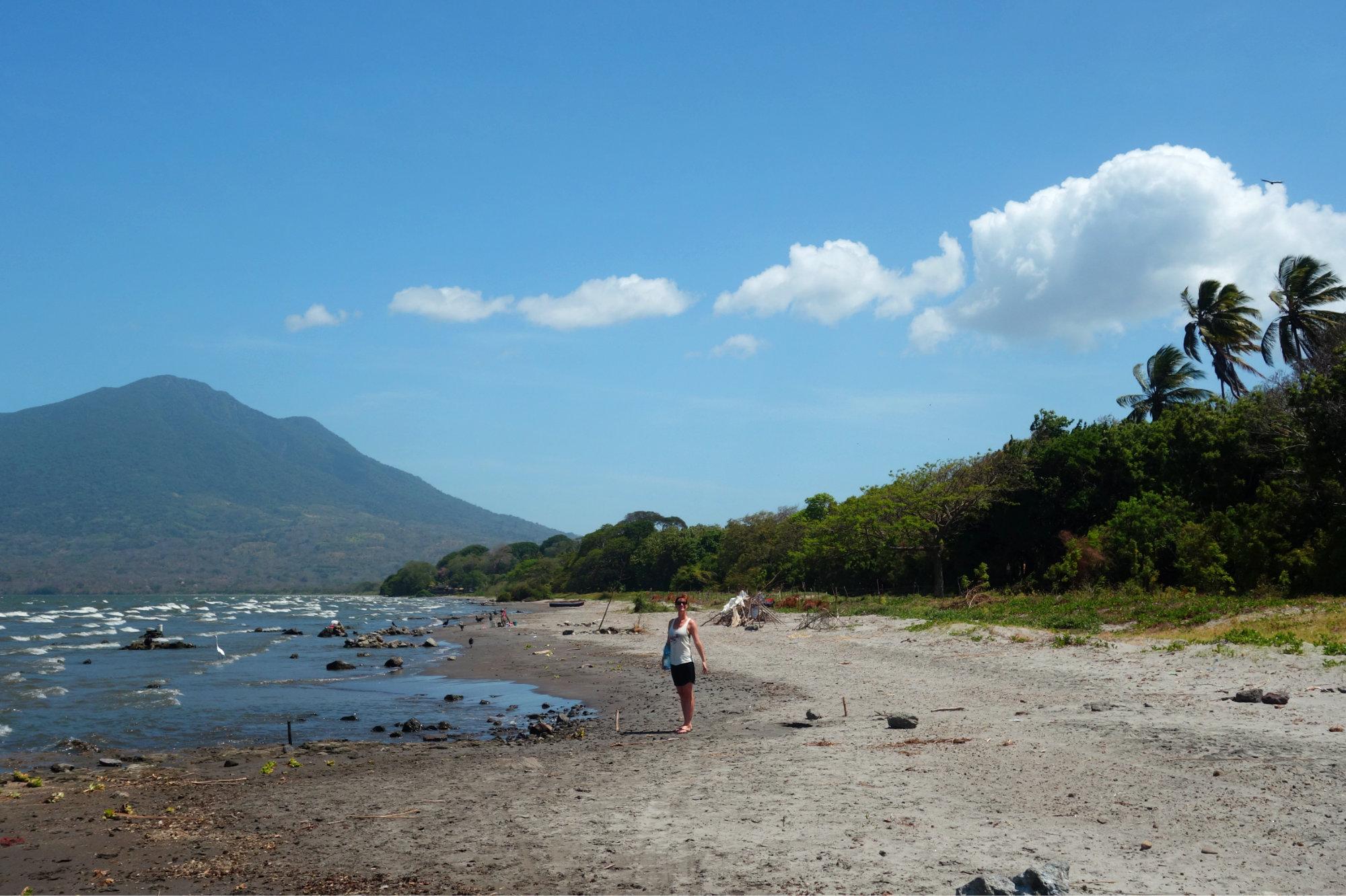 Ometepe Playa Primavera Franzi