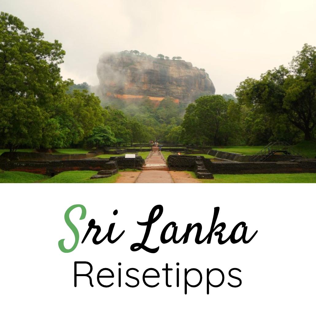 Sri Lanka Reisetipps Box