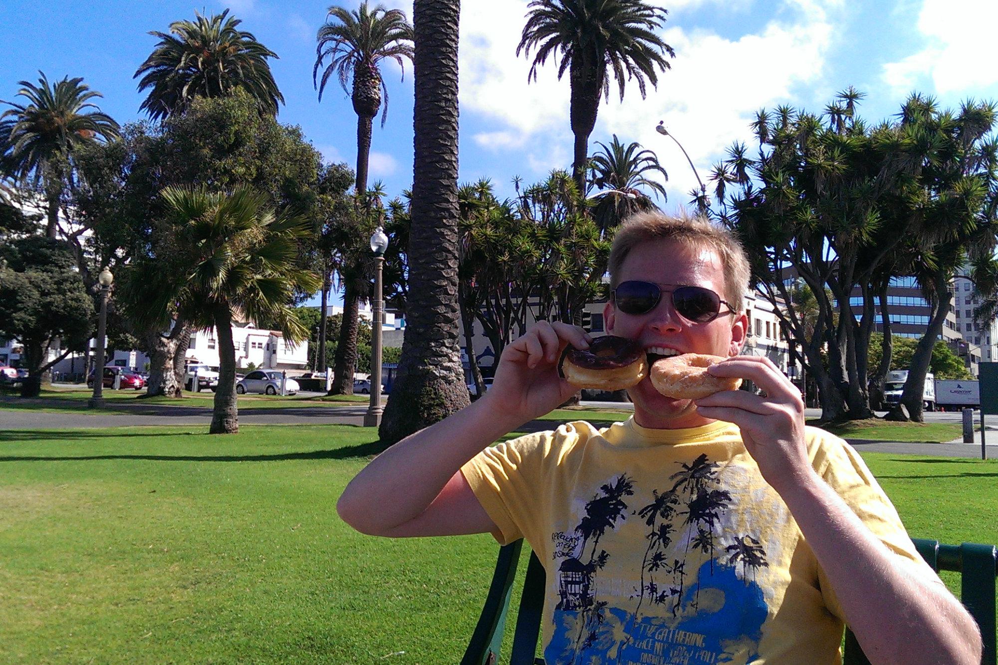 USA Reisetipps Essen Donuts Matthias