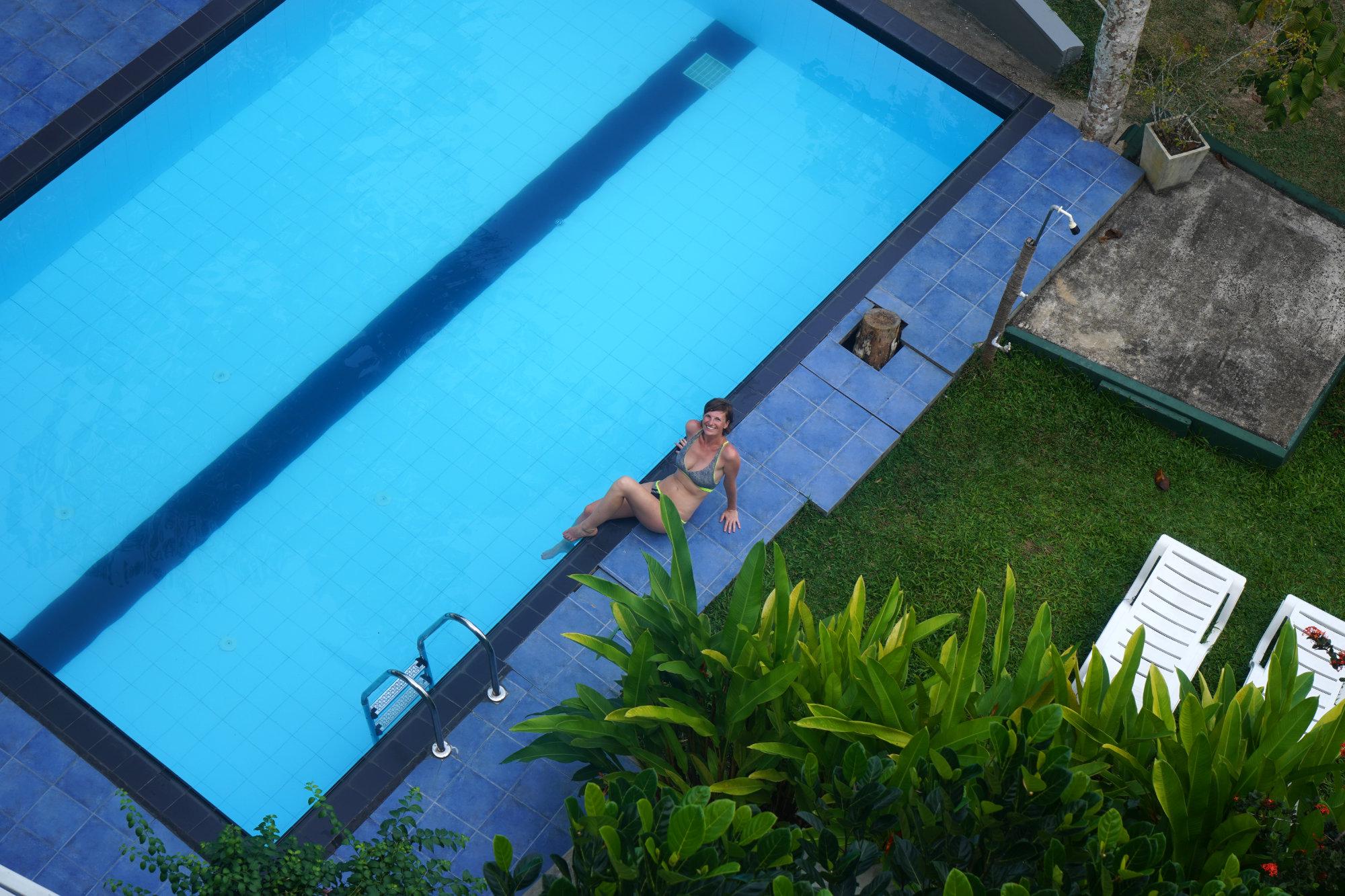 Unawatuna Villa Pool Franzi