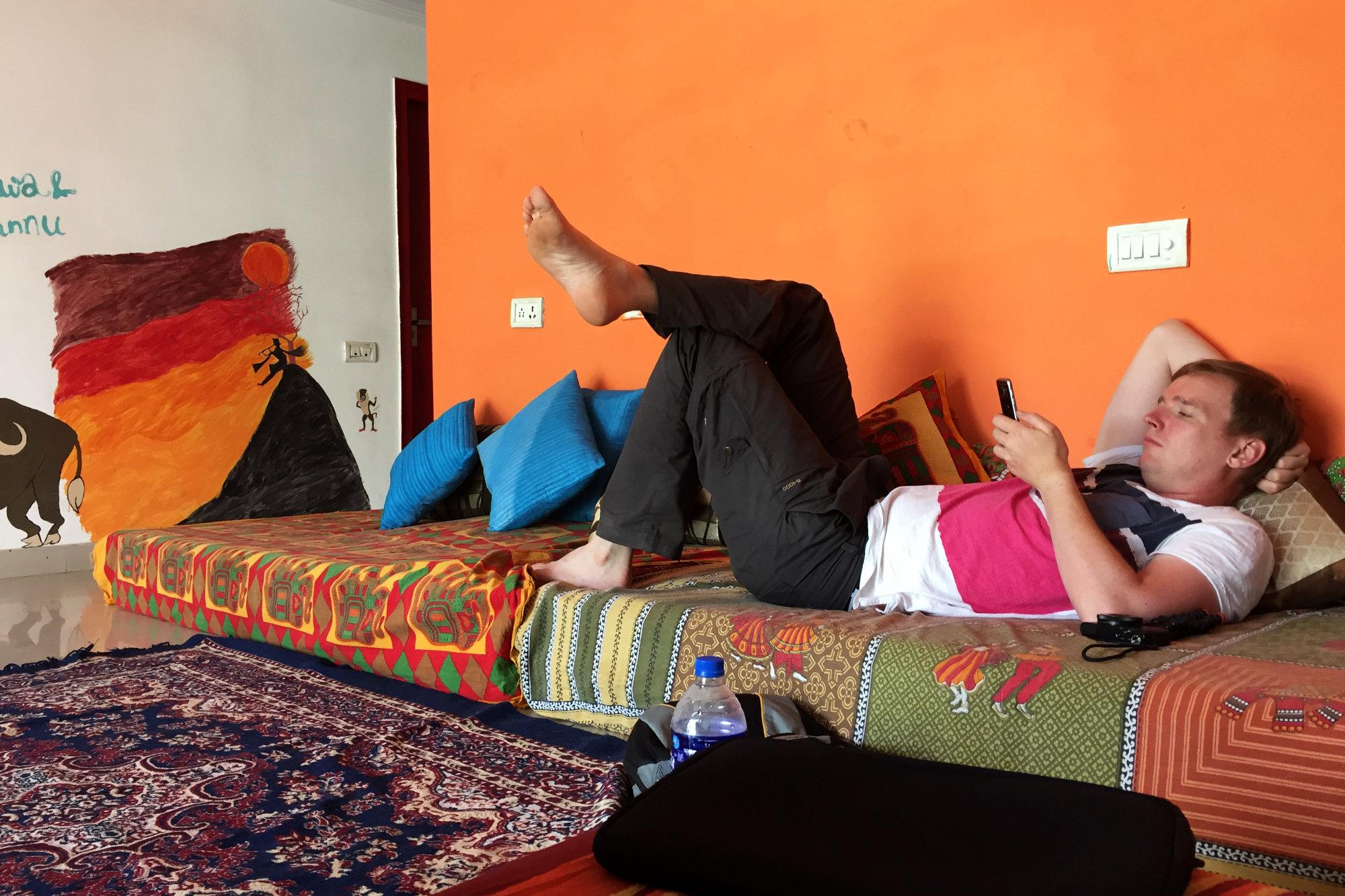 indien Agra Zostel Chillecke