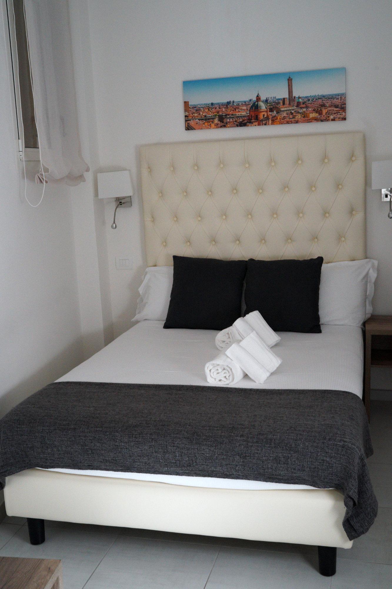 Bologna Hotel Bett