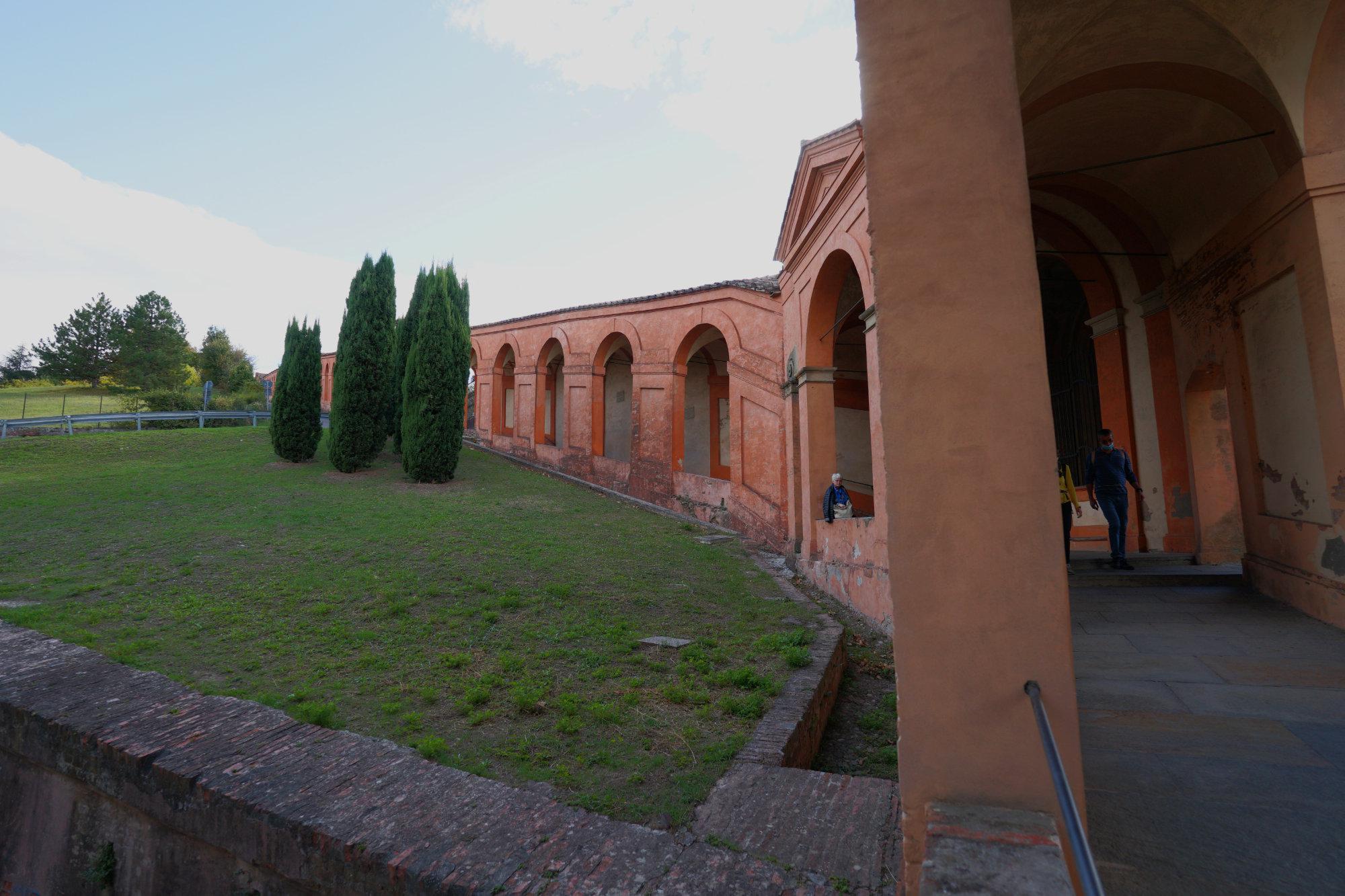 Bologna San Luca Arkaden