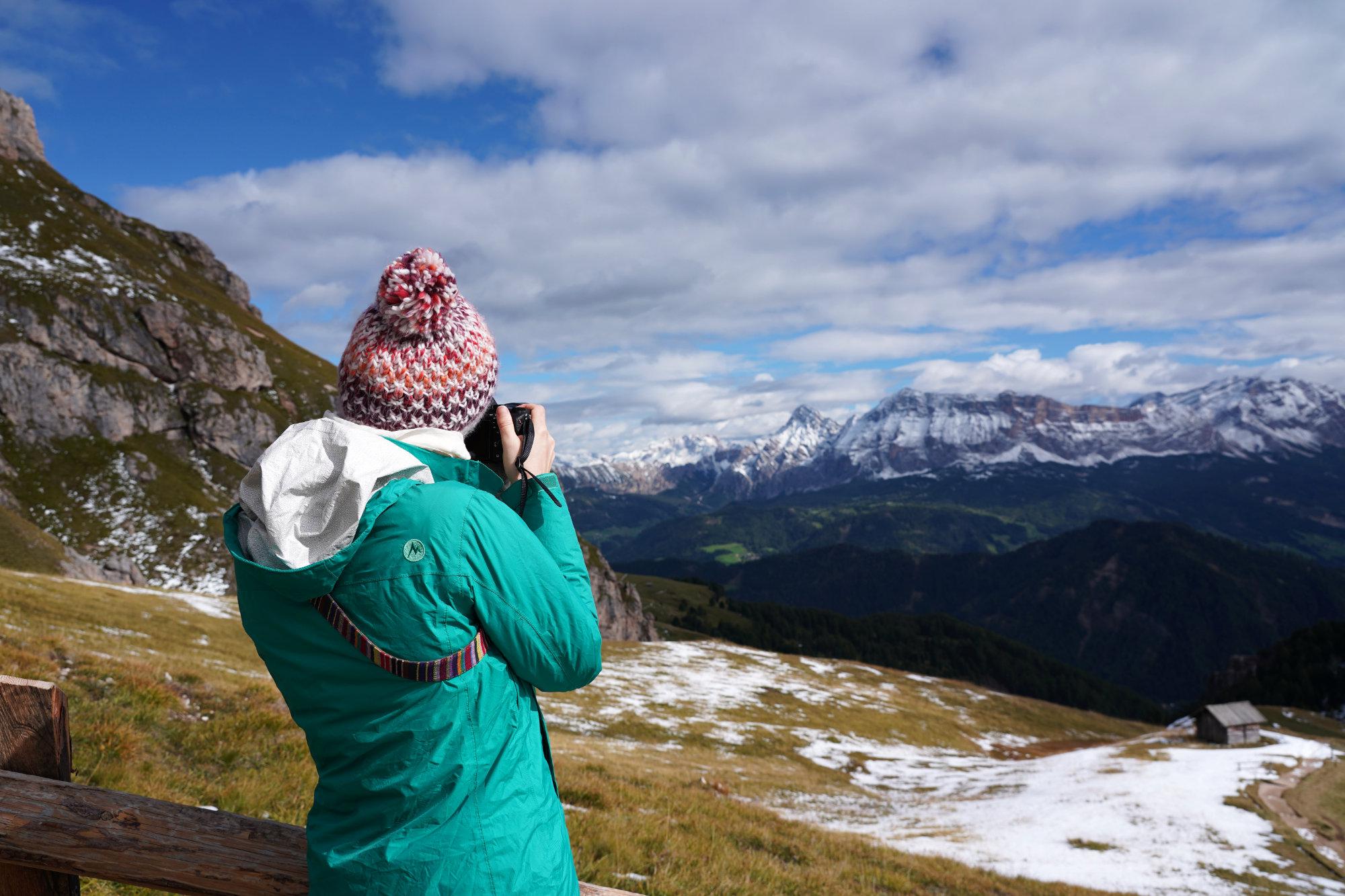 Dolomiten Peitlerkofel Franzi fotografiert