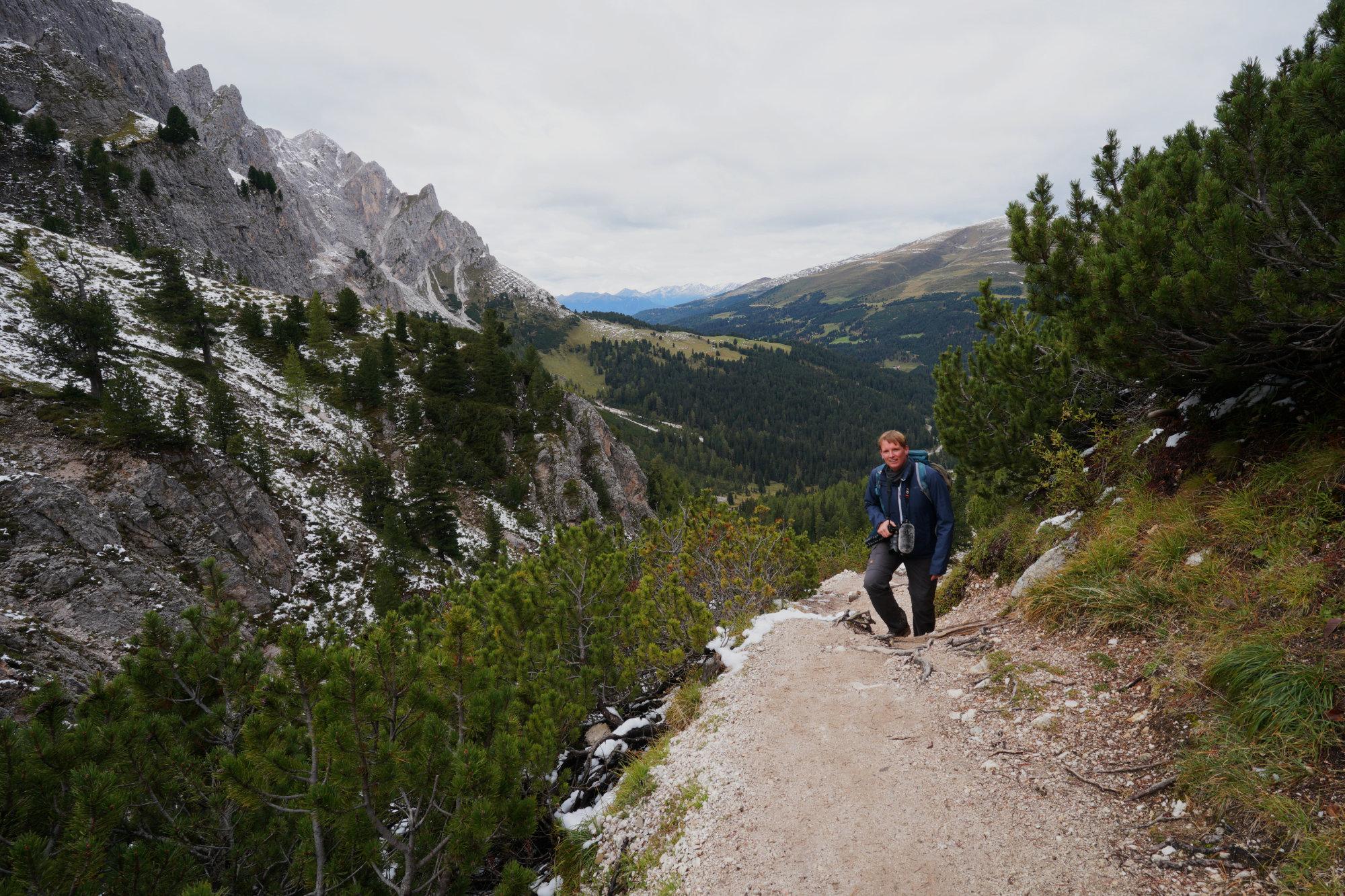 Dolomiten Peitlerkofel Matthias Wanderweg