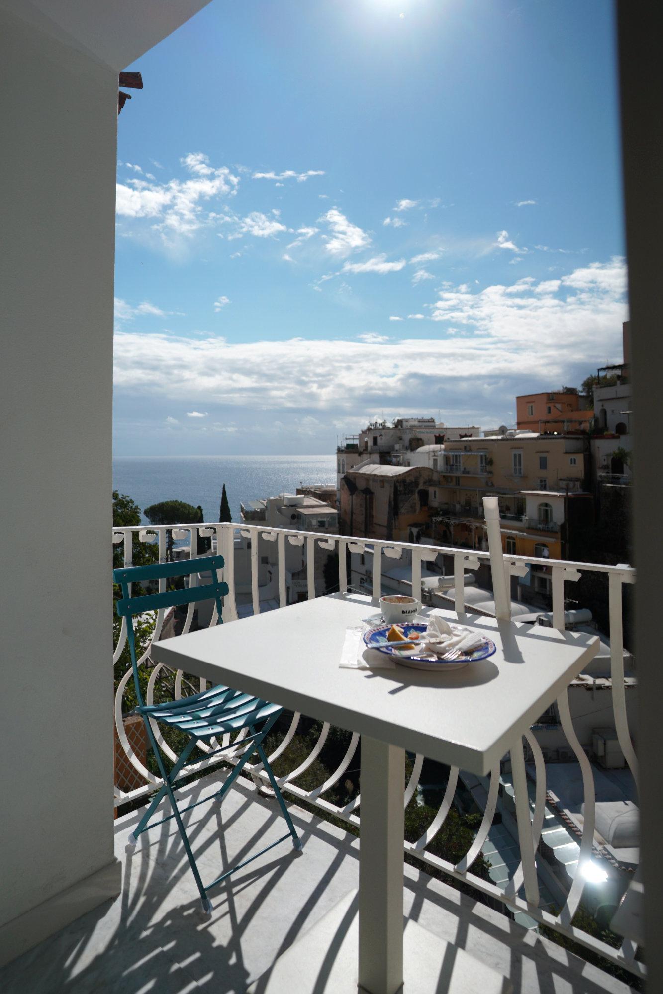Positano Cafe Balkon