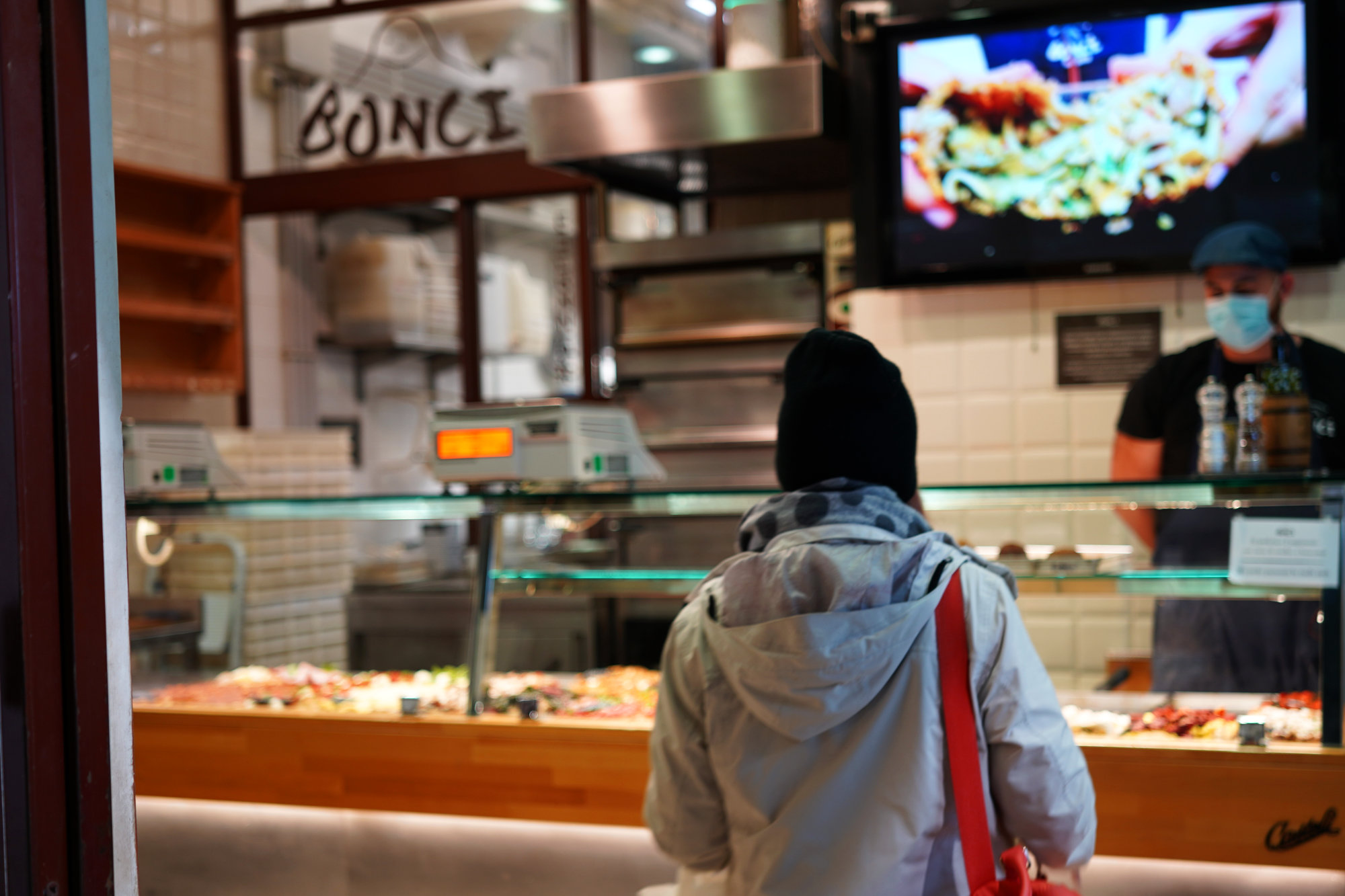 Rom Foodtour Pizzarium Laden