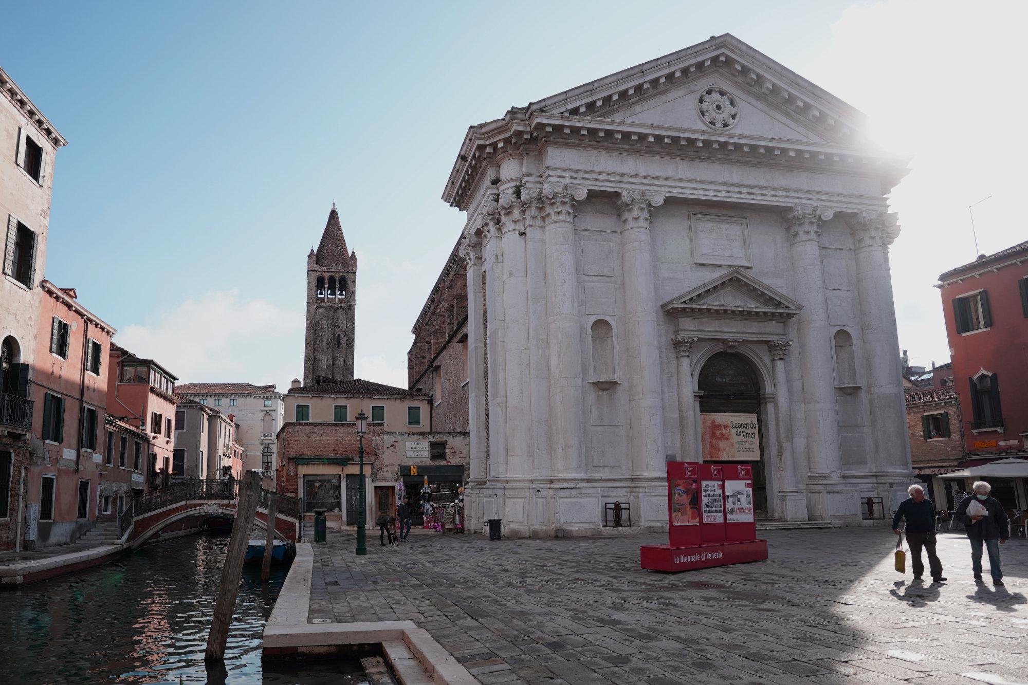 Venedig Campo San Barnaba Kirche