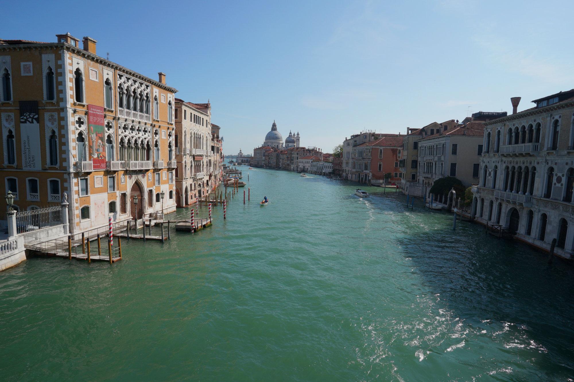 Venedig Canal Grand von Ponte Accadamia Santa Maria