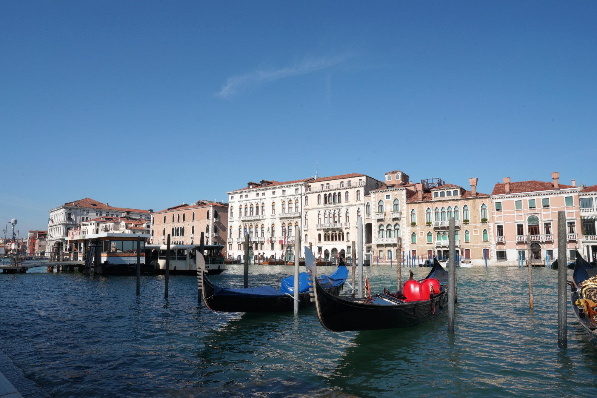Venedig Canal Grande vor Maria Salute