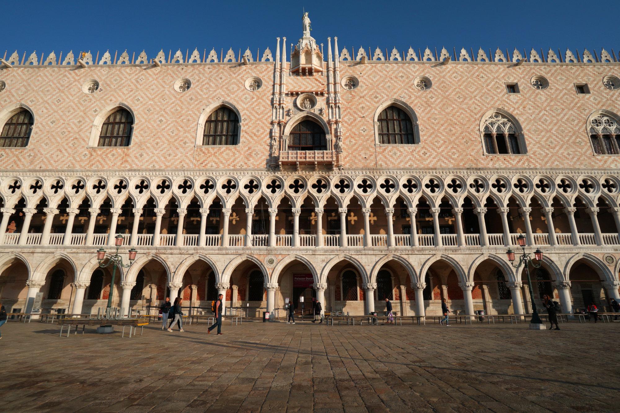Venedig Dogenpalast frontal