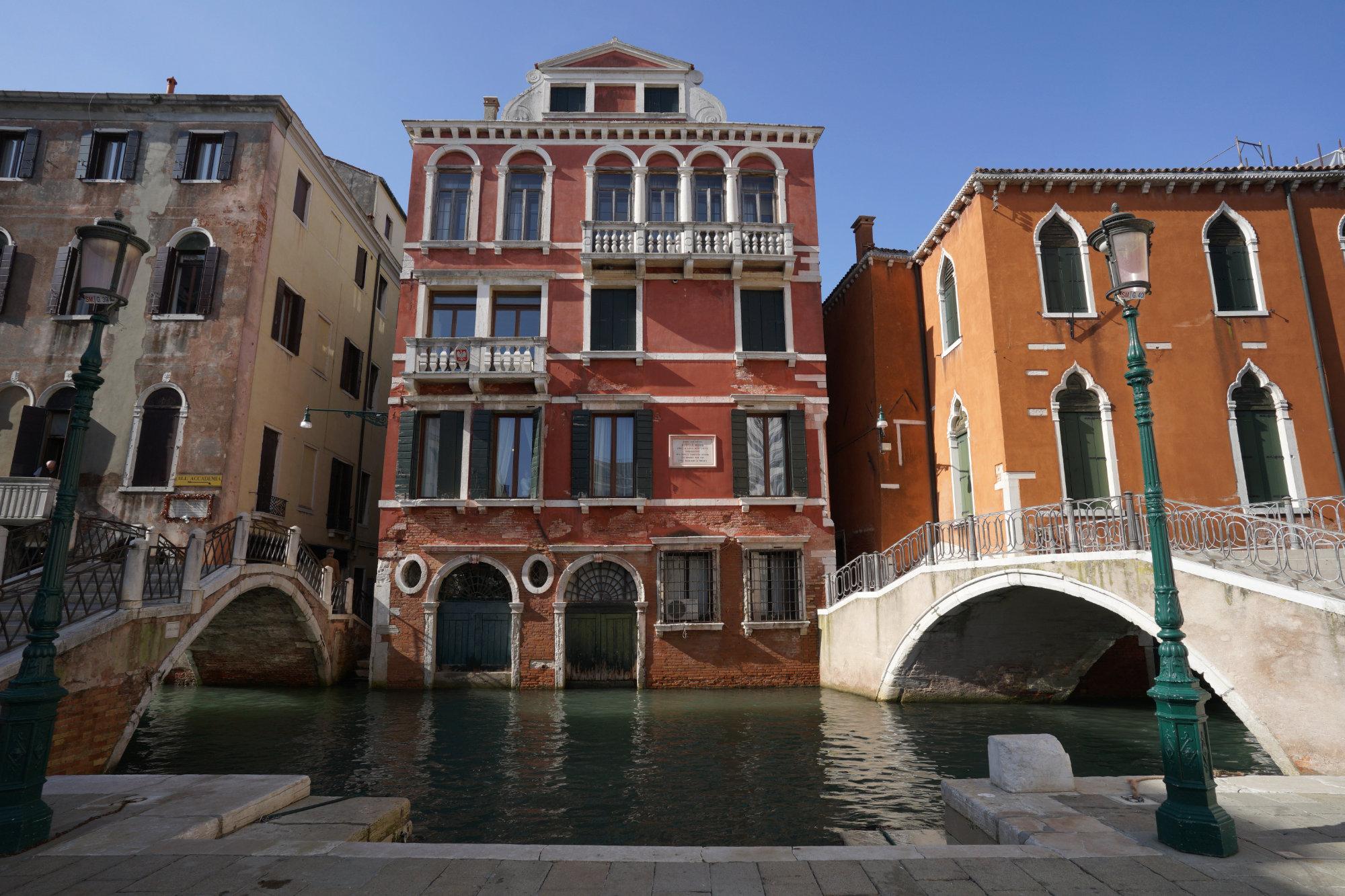 Venedig Haus und Kanal