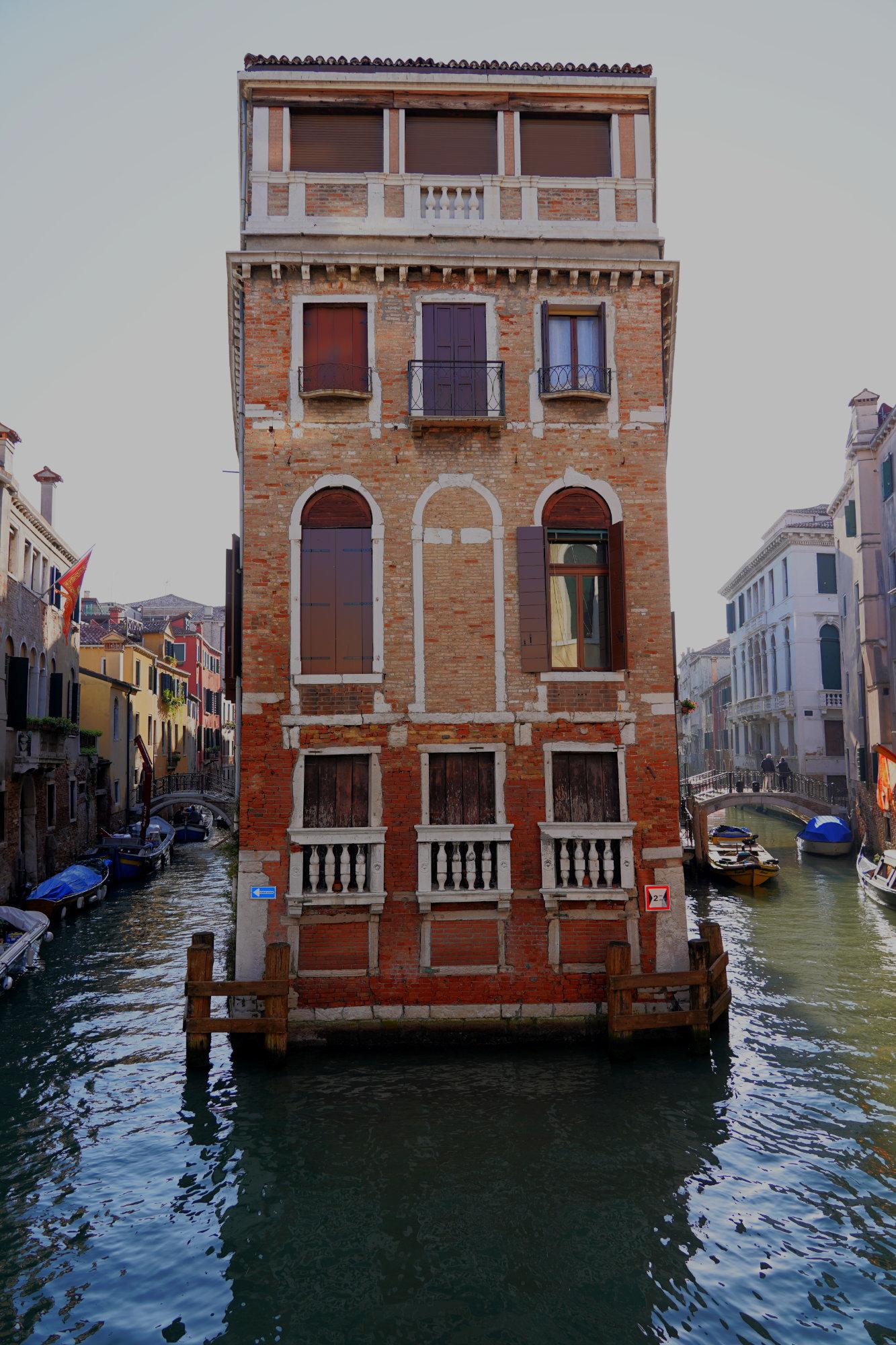 Venedig Haus zwischen Kanälen