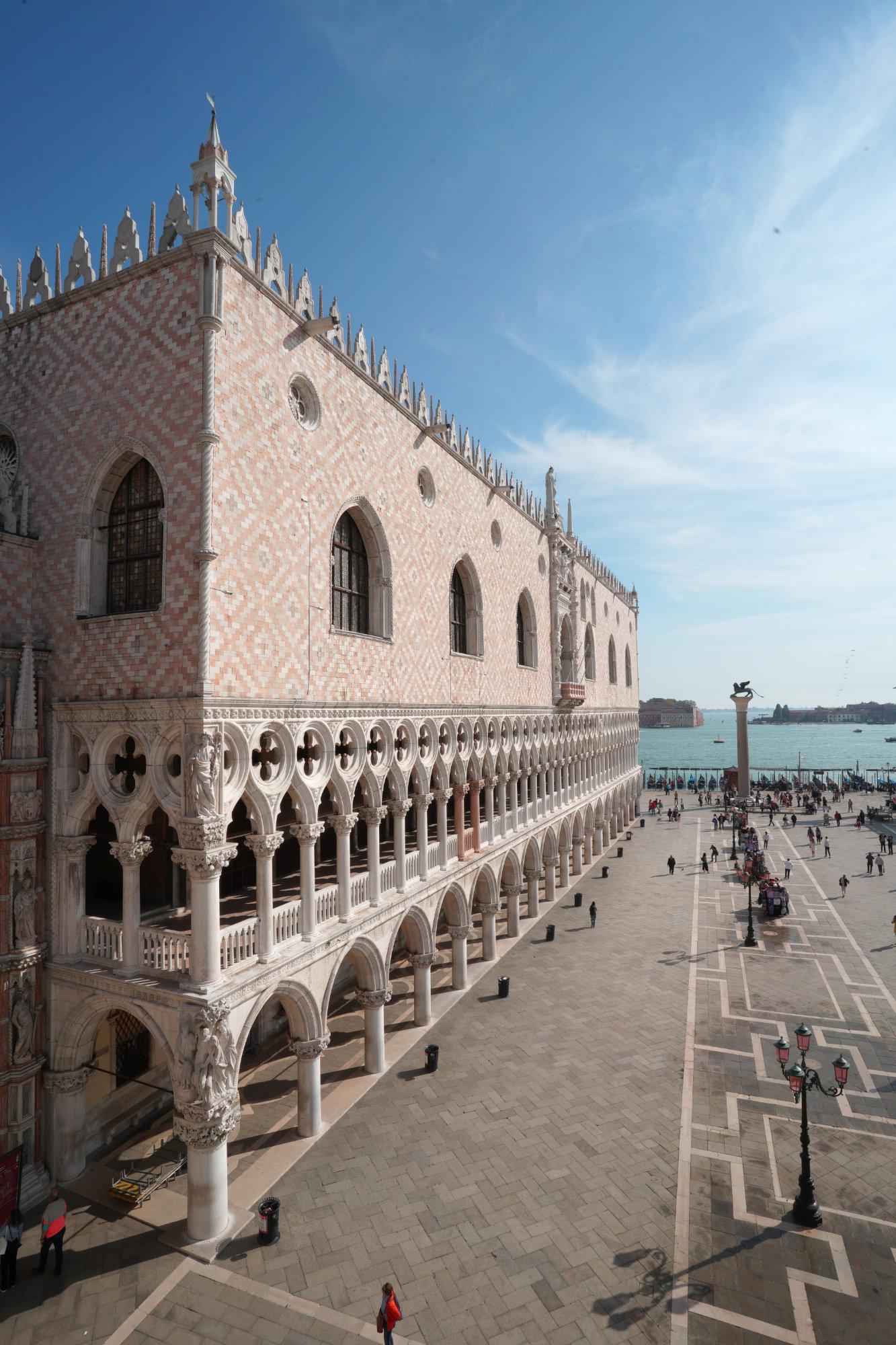 Venedig Markusdom Blick
