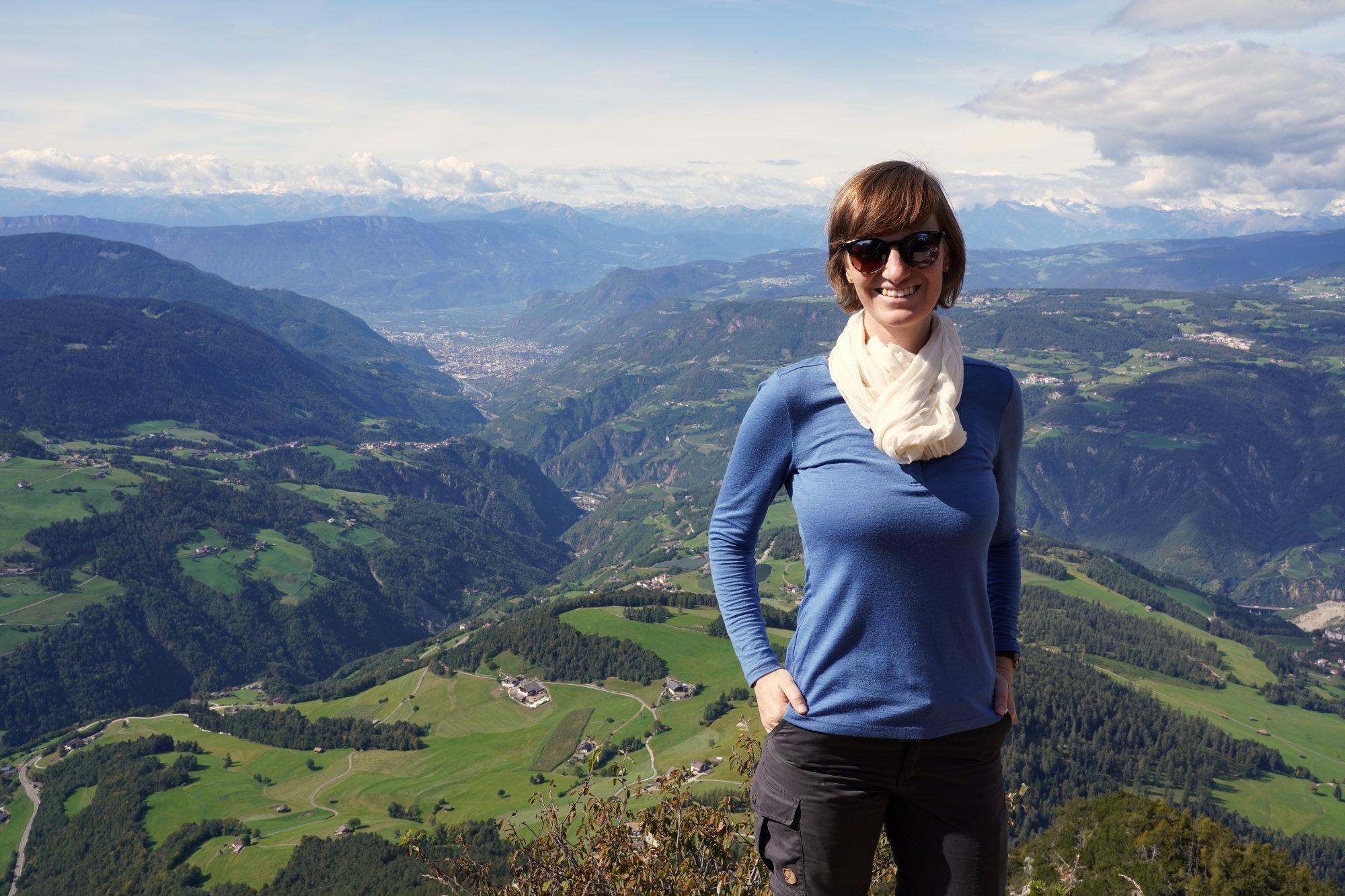 Völsegg Spitze Panorama Franzi