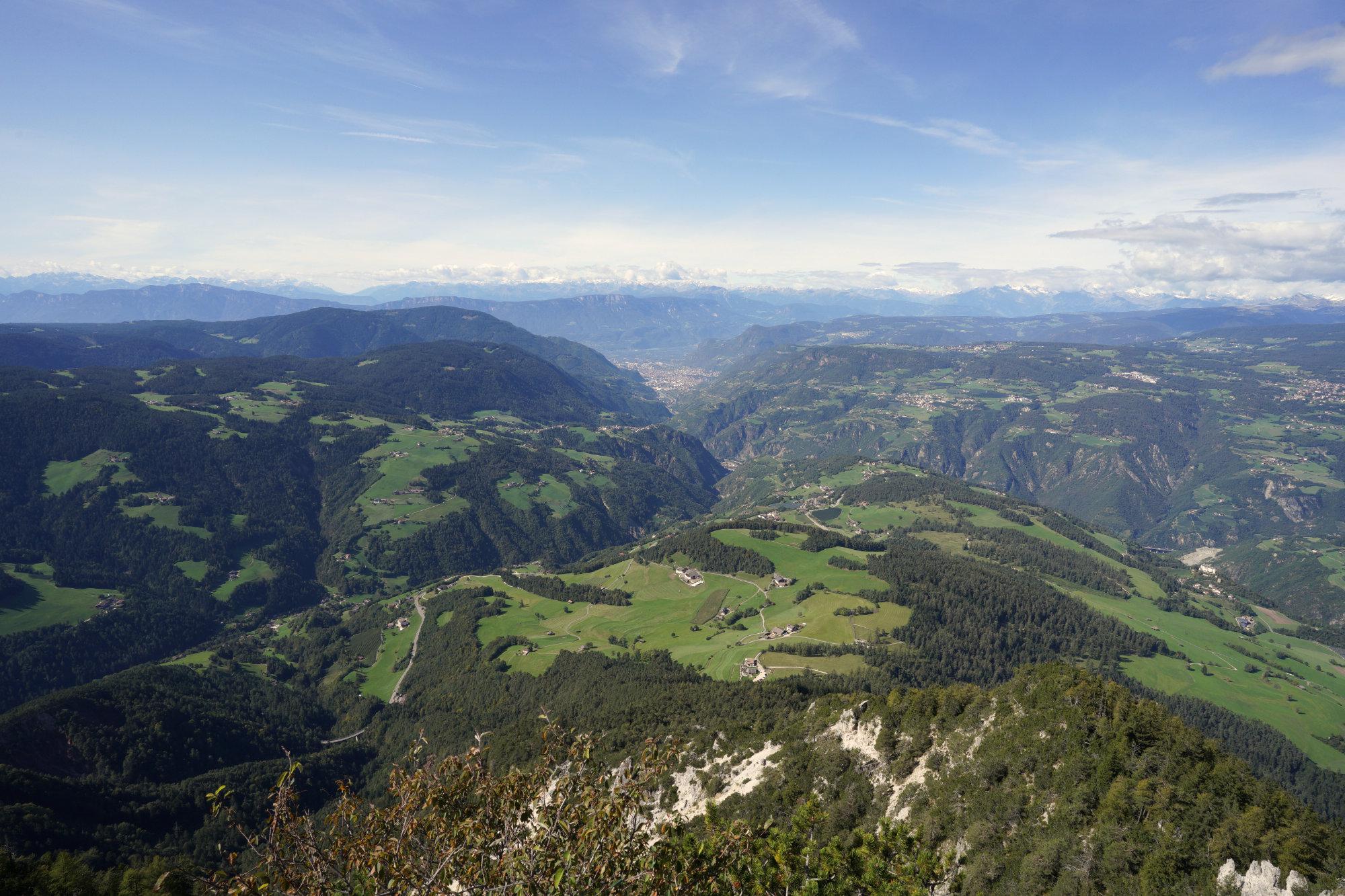 Völsegg Spitze Panorama Zoom