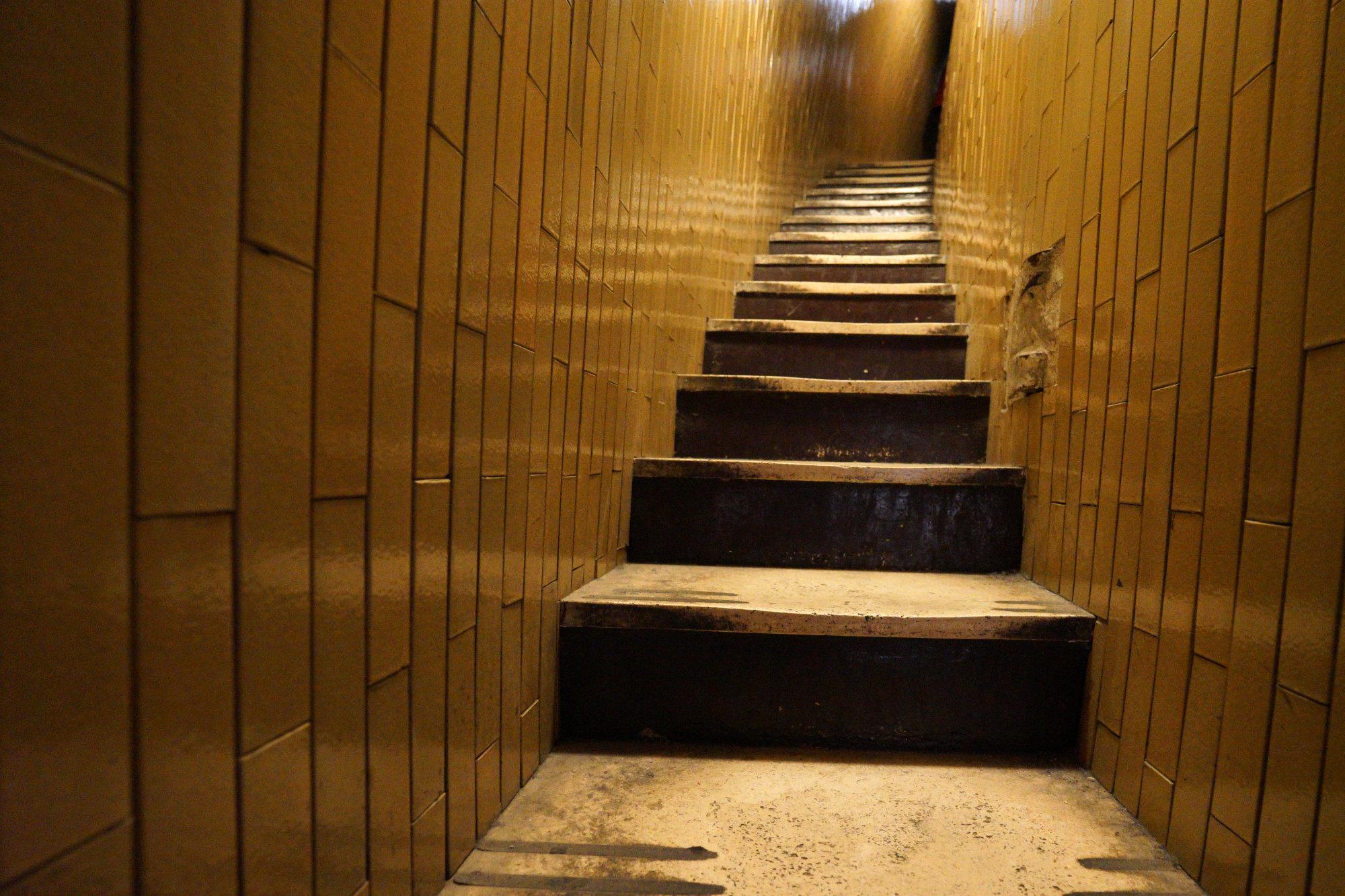 Vatikan Petersdom Kuppel Treppe