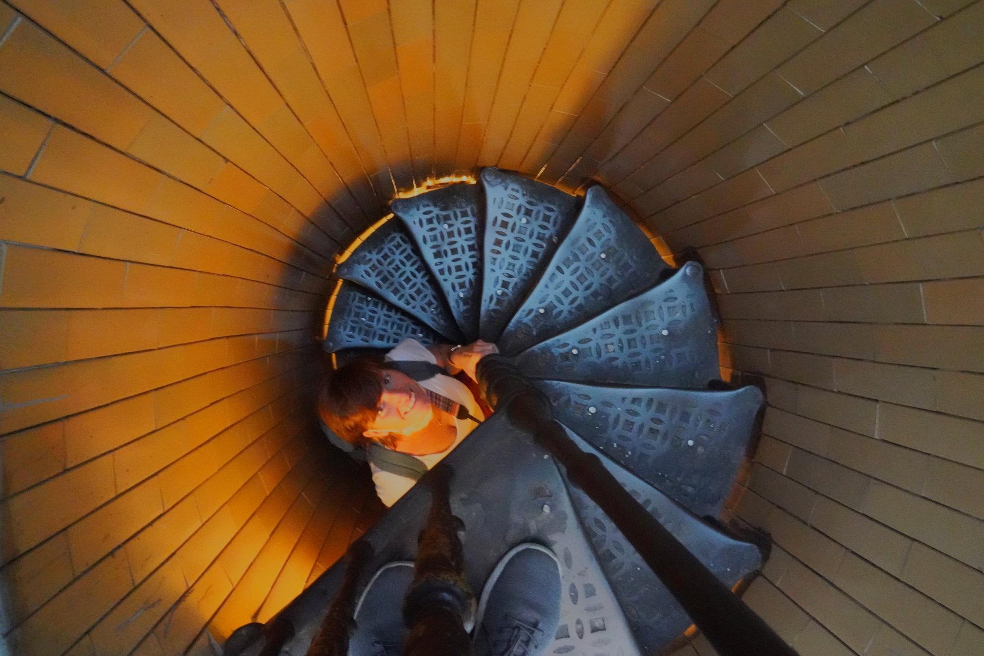 Vatikan Petersdom Kuppel Wendeltreppe
