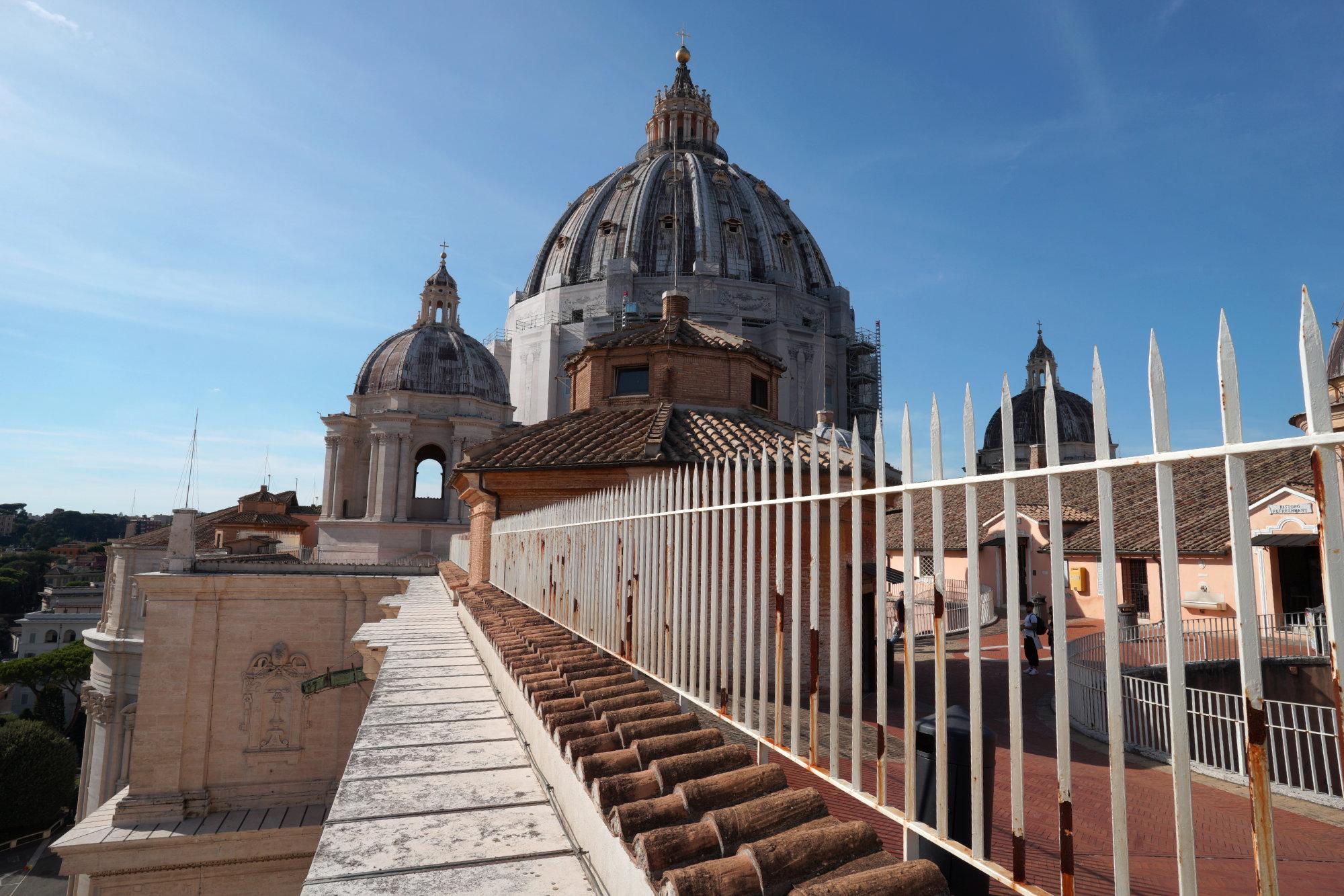 Vatikan Petersdom Kuppel