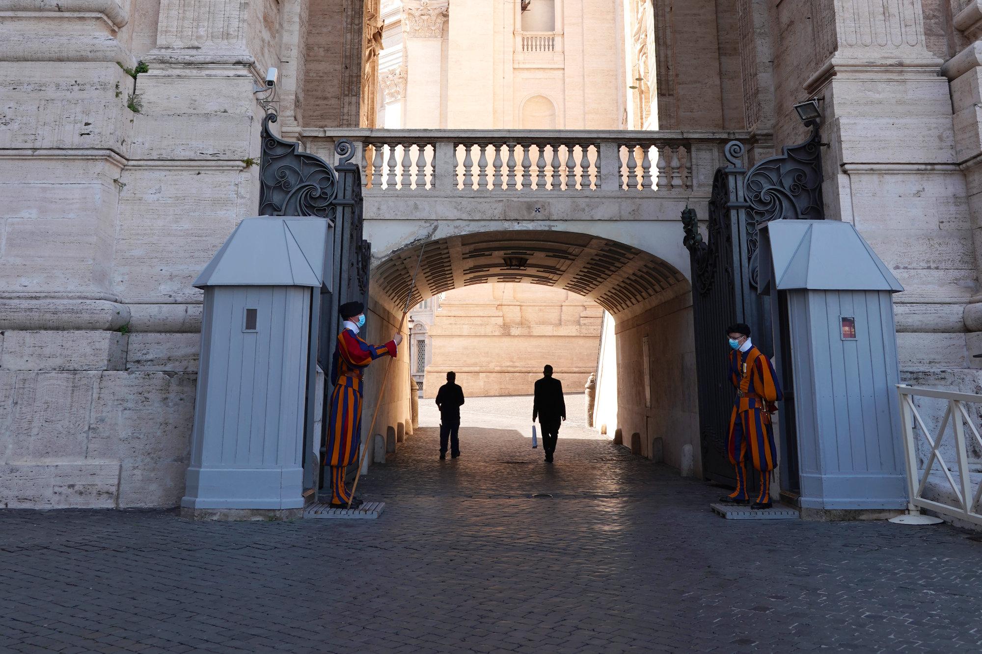 Vatikan Schweizer Garde