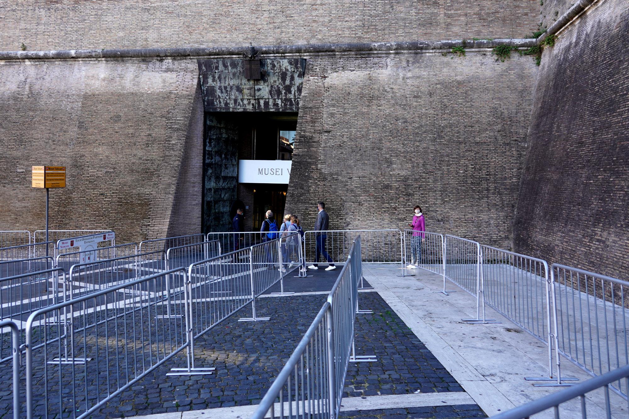 Vatikanische Museen Eingang