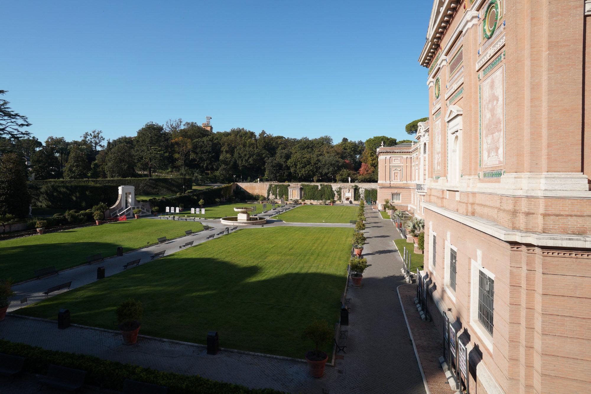 Vatikanische Museen Garten