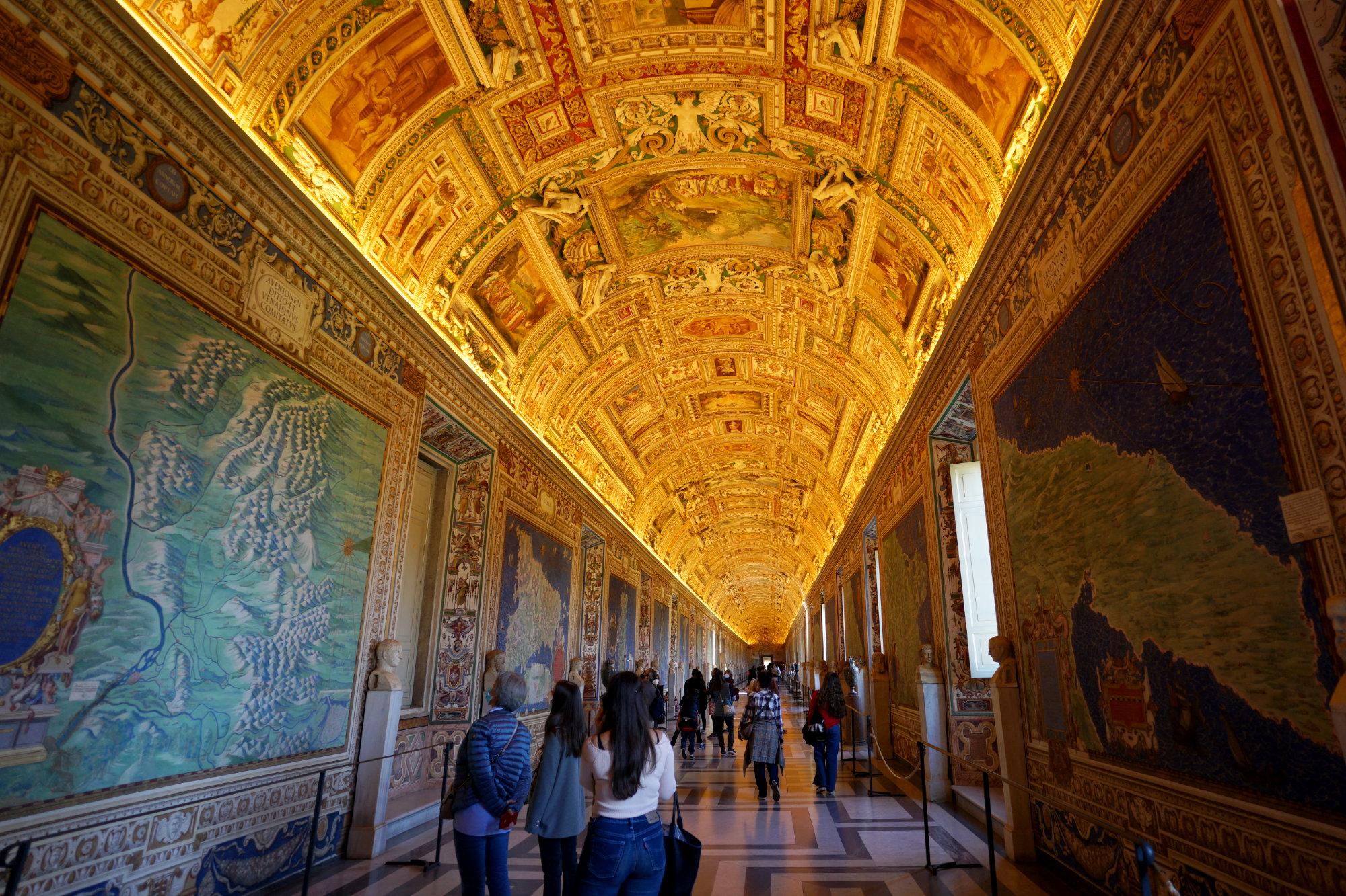 Vatikanische Museen Landkarten Galerie