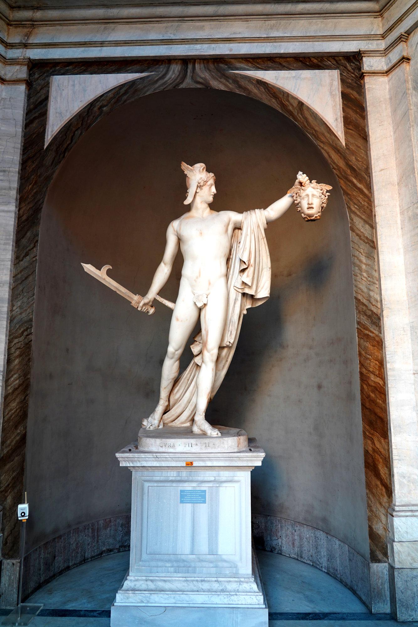 Vatikanische Museen Pio Clementino Statue